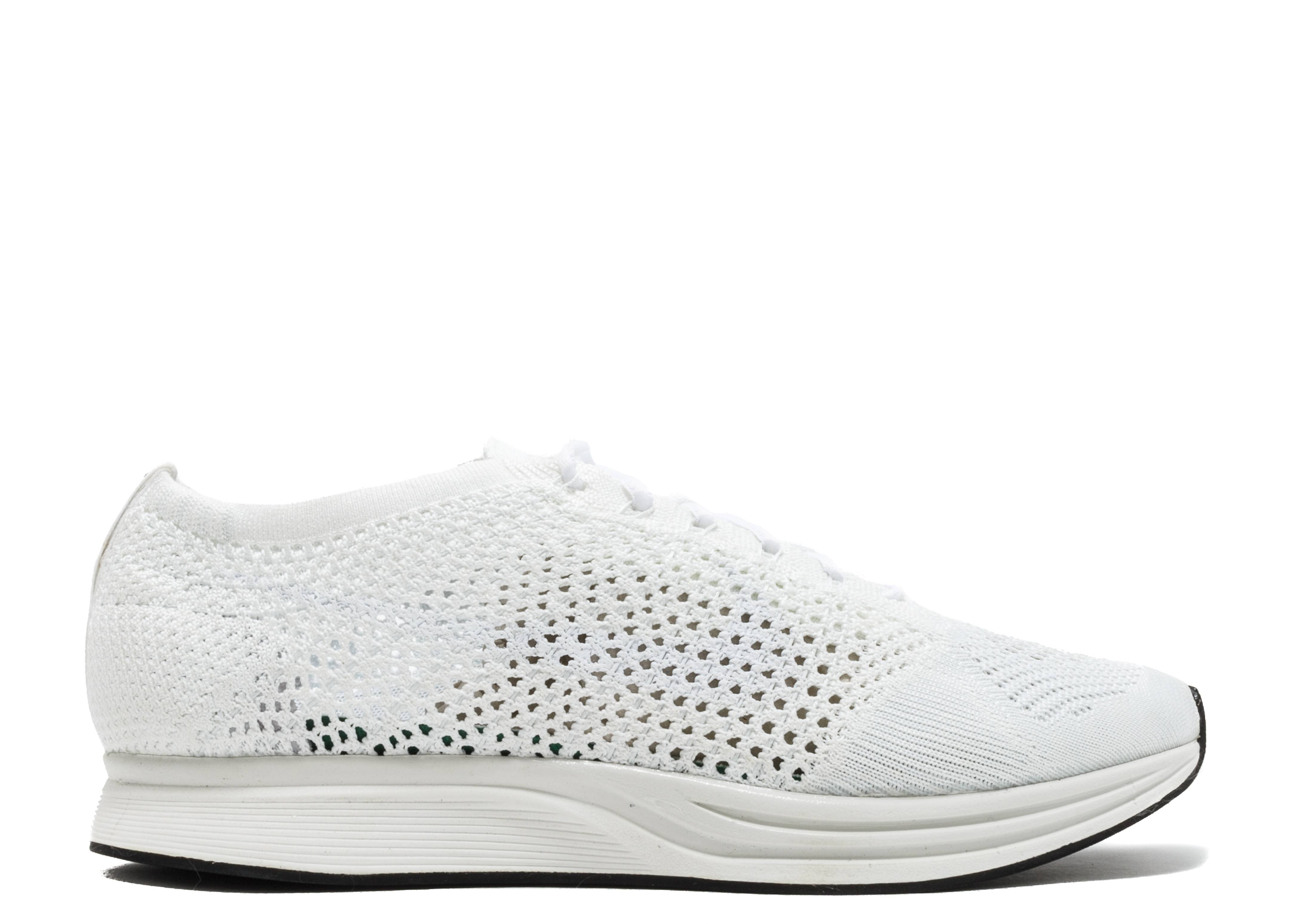 Sinceramente pesadilla Judías verdes  Flyknit Racer 'Triple White' - Nike - 526628 100 - white/white-sail |  Flight Club