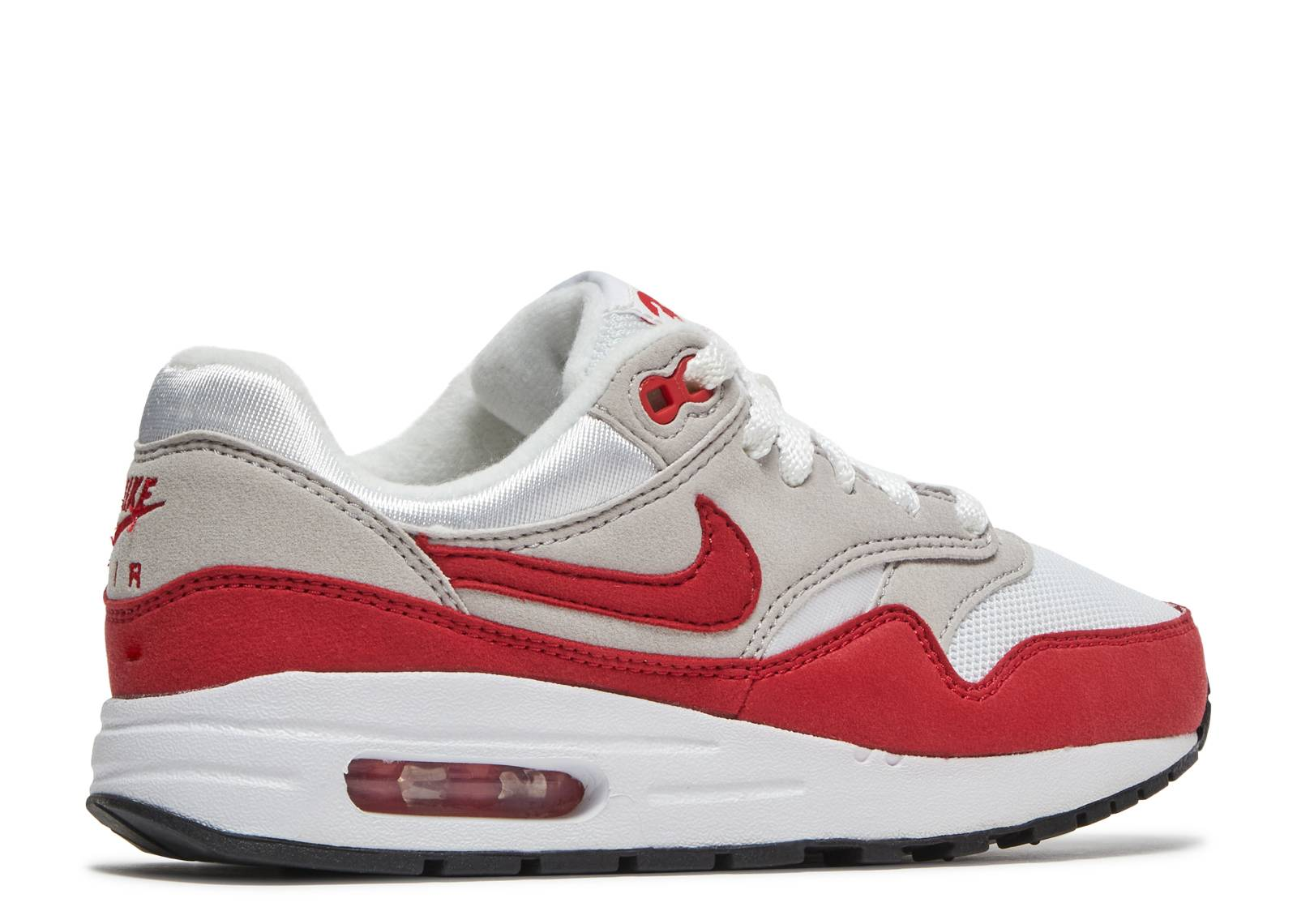 091517cf946e Air Max 1 QS (gs) - Nike - 827657 101 - white  university red ...