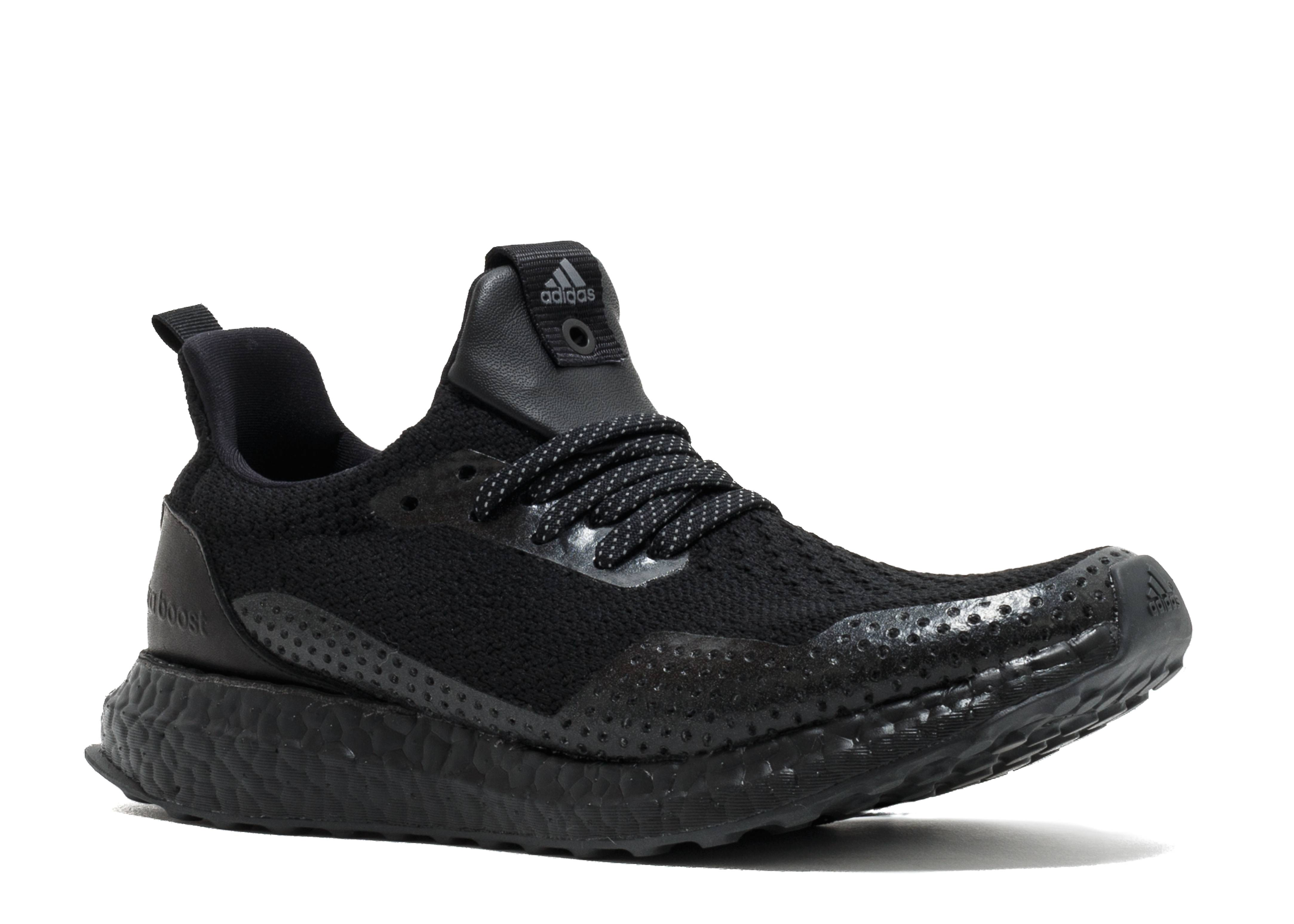 buy online 5f2a2 897e2 Adidas Ultra Boost Uncaged Haven Triple Black - 1