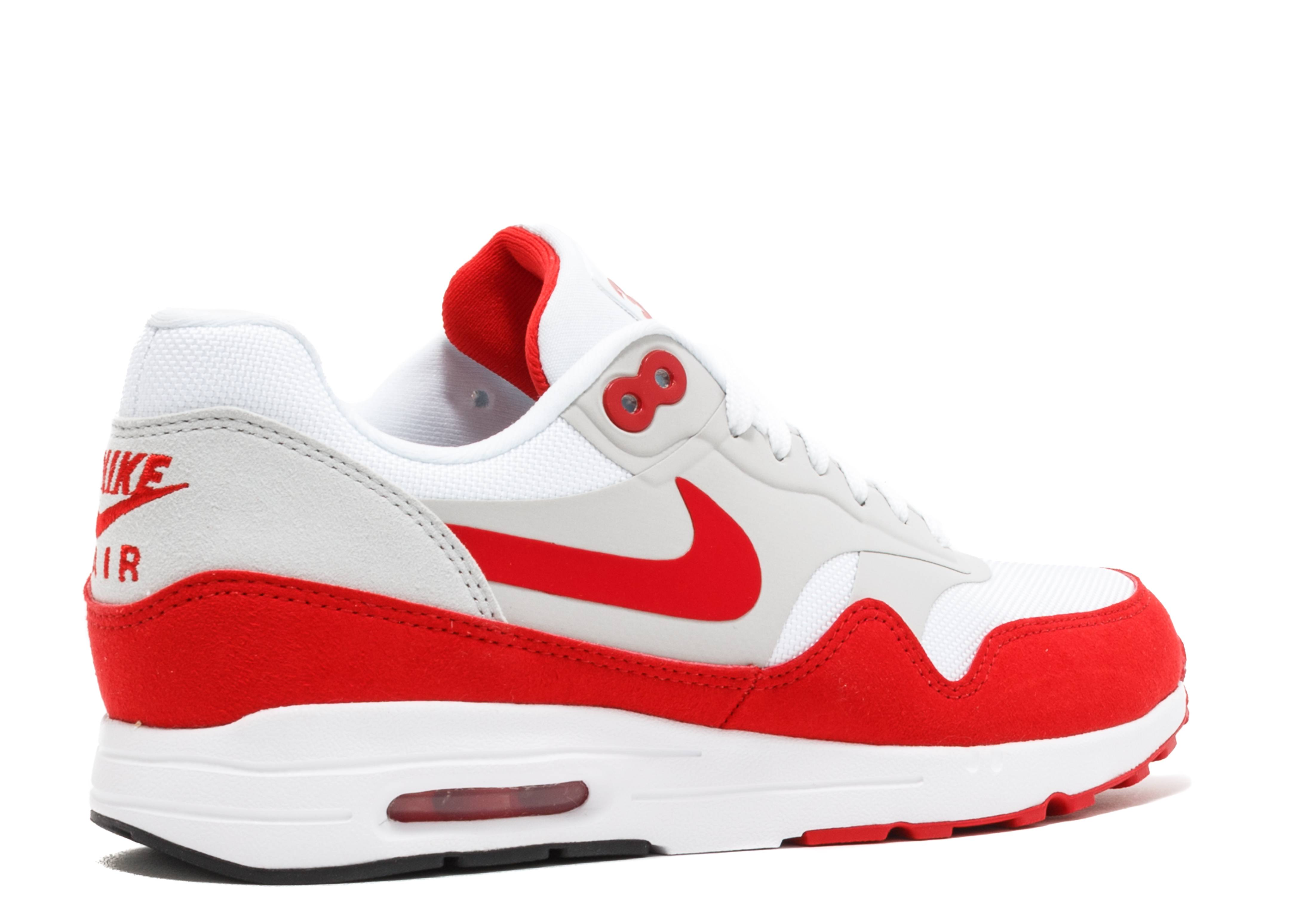 w nike air max 1 ultra 2 0 le air max day nike 908489 101 white unversity red flight club. Black Bedroom Furniture Sets. Home Design Ideas