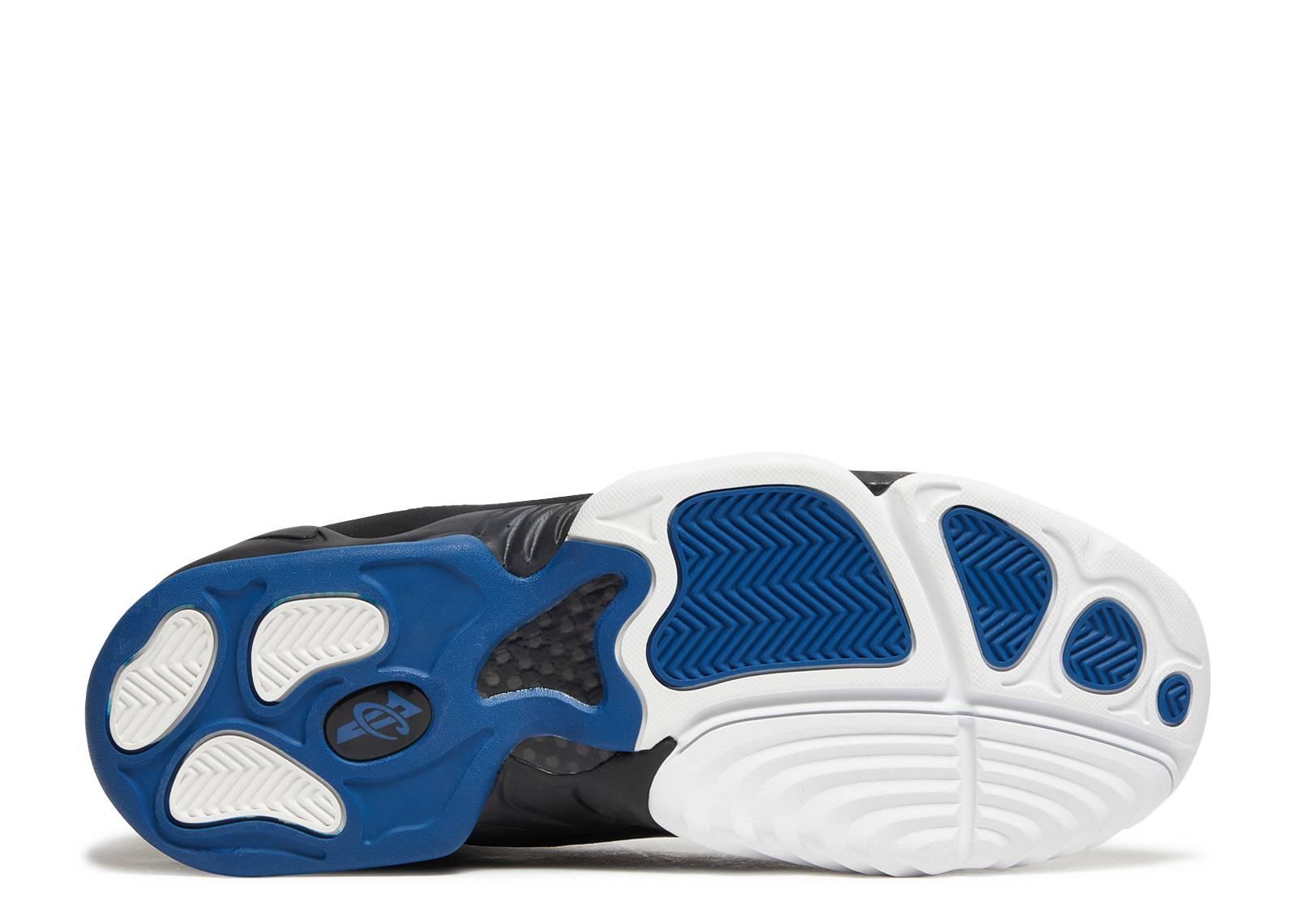5892783e26e1 Air Penny 4 - Nike - 864018 100 - white black-atlantinc blue ...