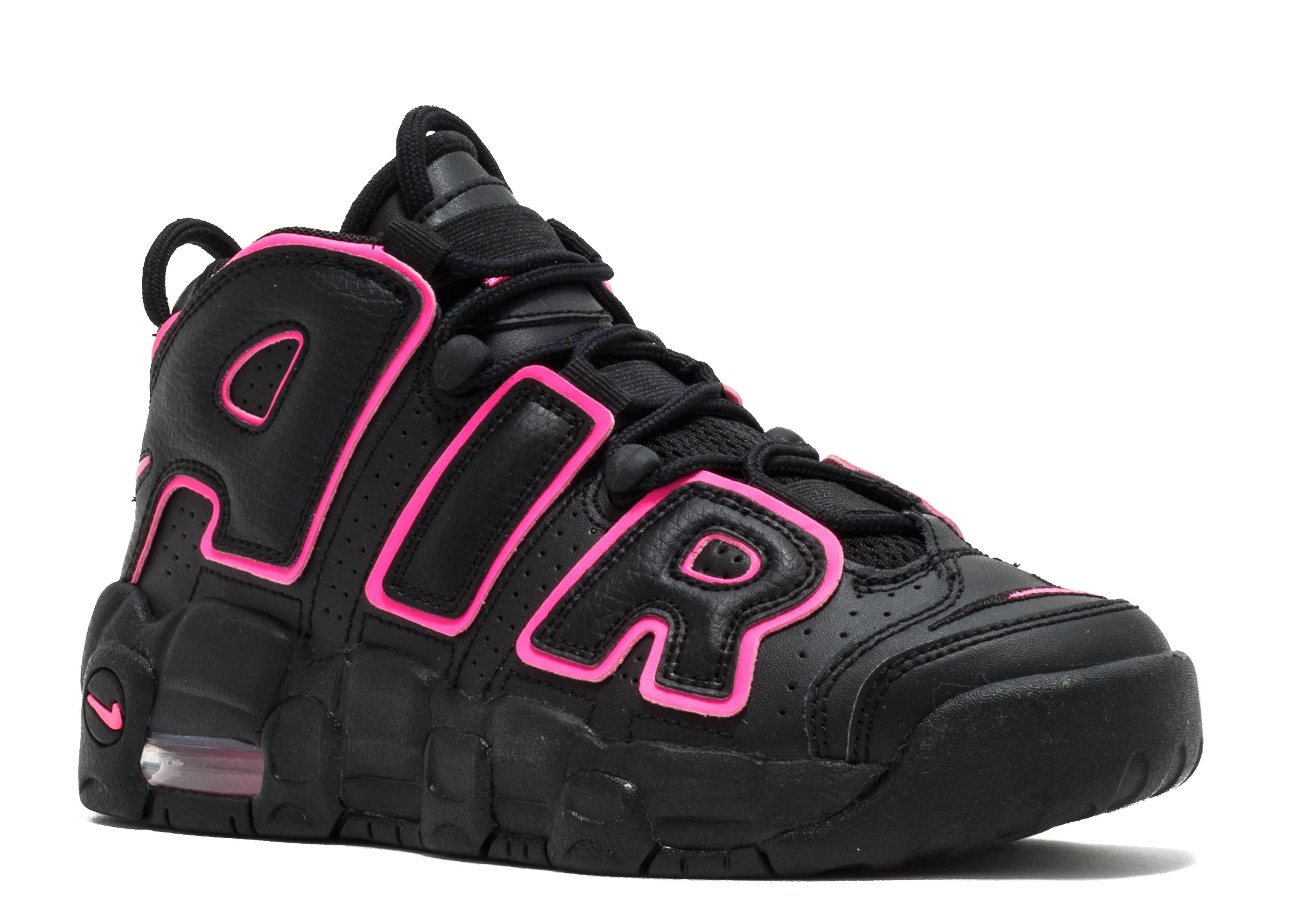 more photos b1780 ccc2f Air More Uptempo (gs) - Nike - 415082 003 - black pink blast  Flight Club