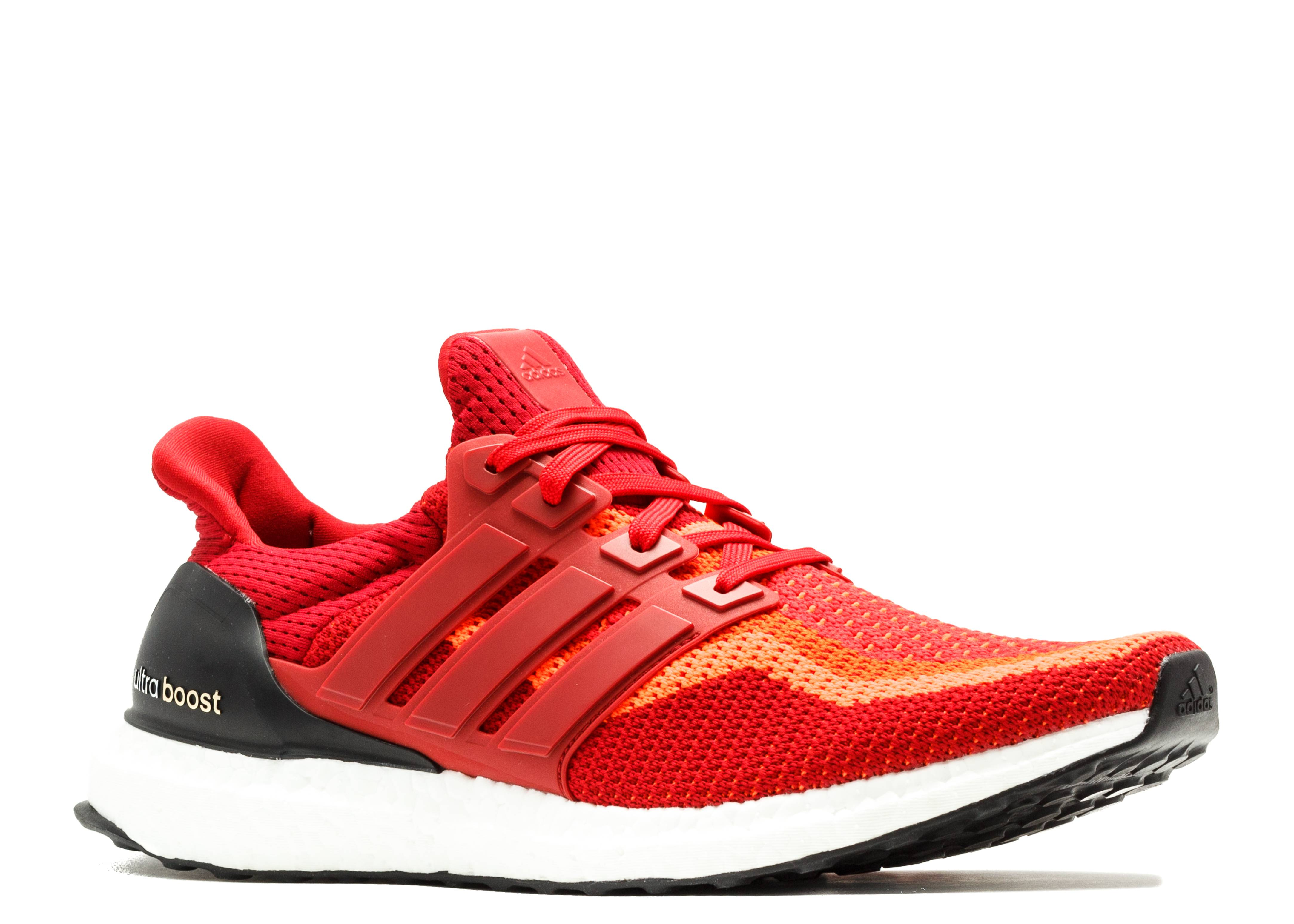 3a994ad2395 UltraBoost - Adidas - aq4006 - solar red power red white