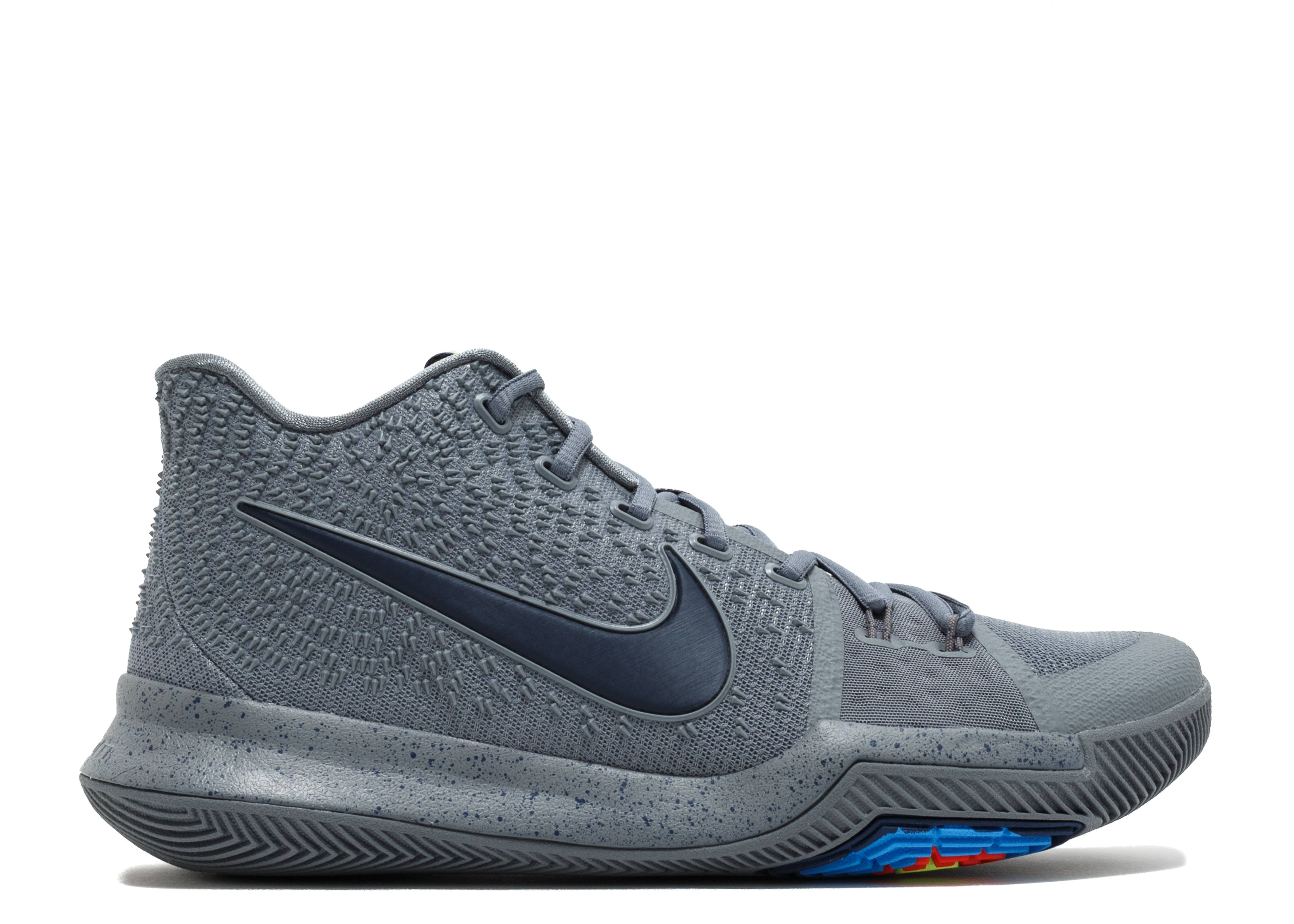 """kyrie 3 """"cool grey"""""""