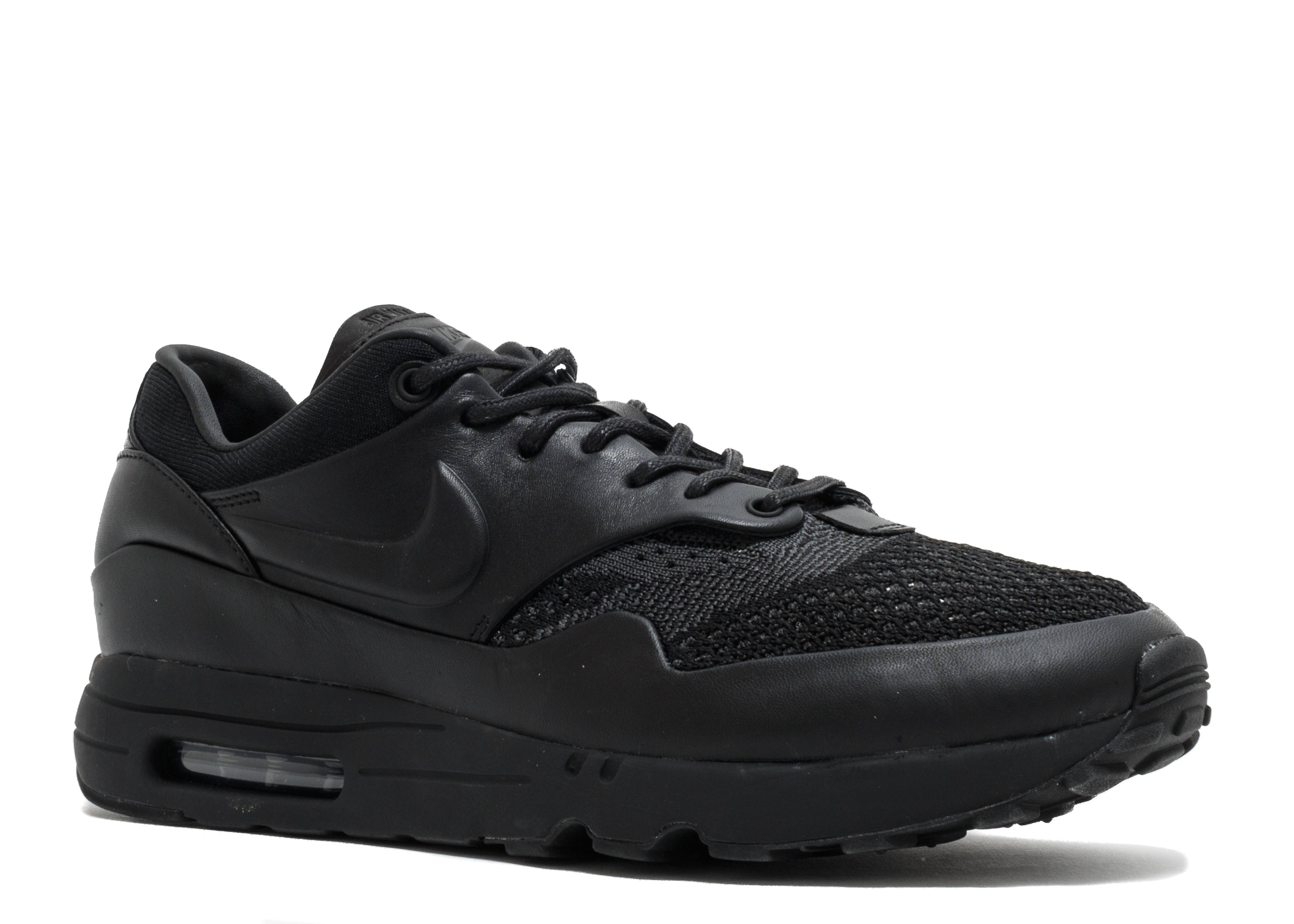 nike air max 1 flyknit royal nike 923005 001 black black anthracite flight club. Black Bedroom Furniture Sets. Home Design Ideas