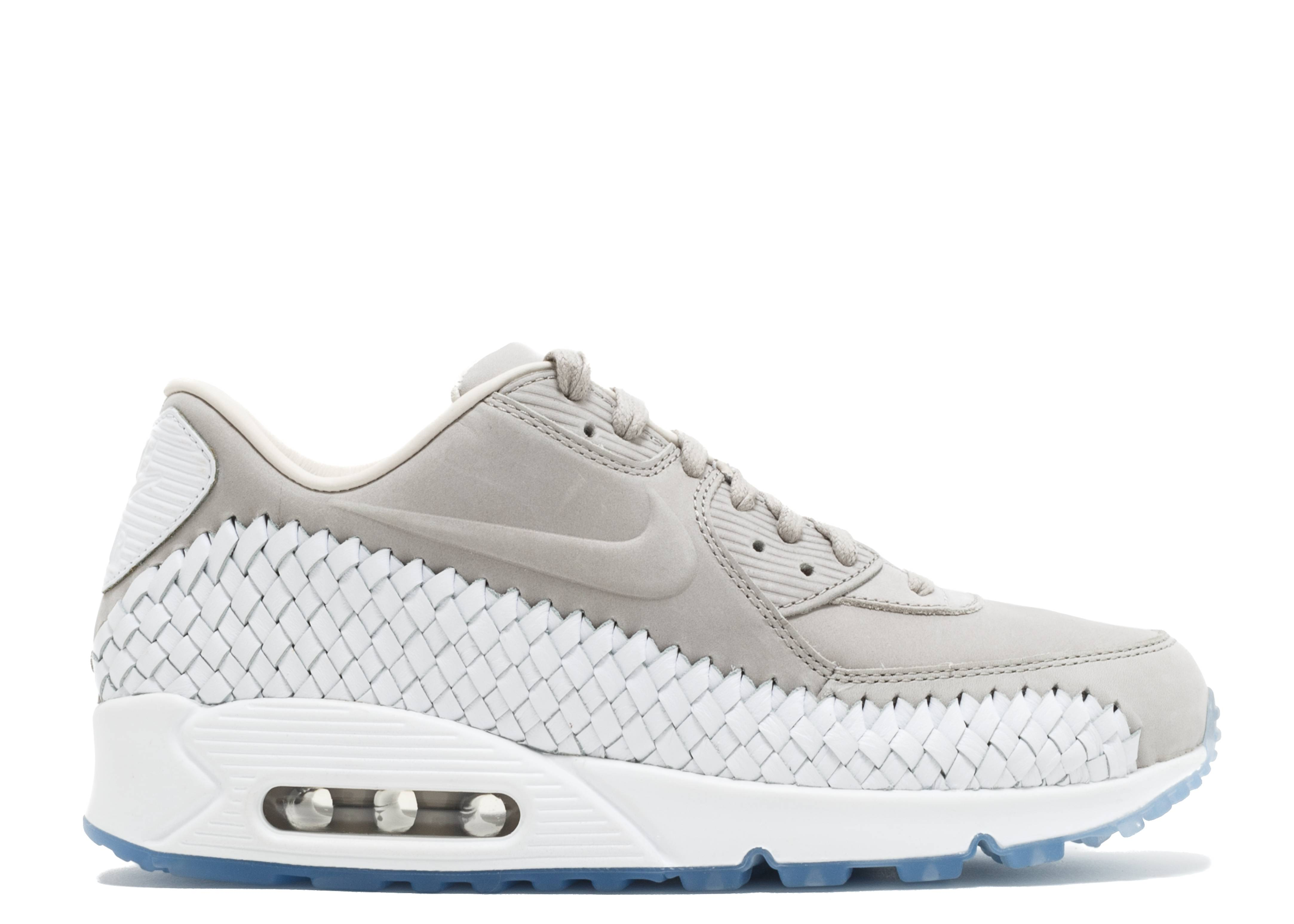 new arrival dd93f bd7b2 Air Max 90 Woven - Nike - 833129 005 - lt iron ore lt iron ore-white    Flight Club