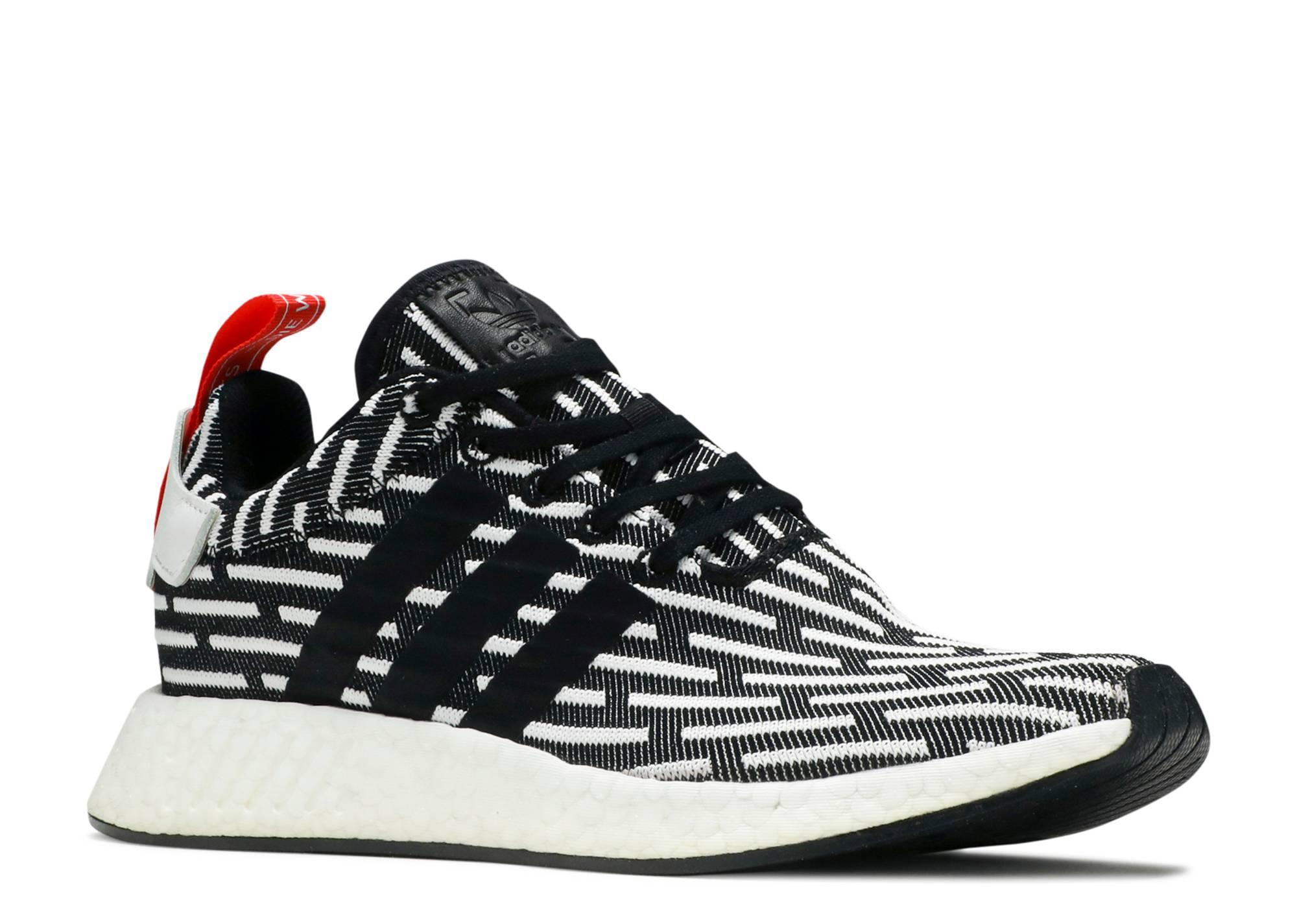 3629f8983 Nmd R2 Pk - Adidas - bb2951 - black white red