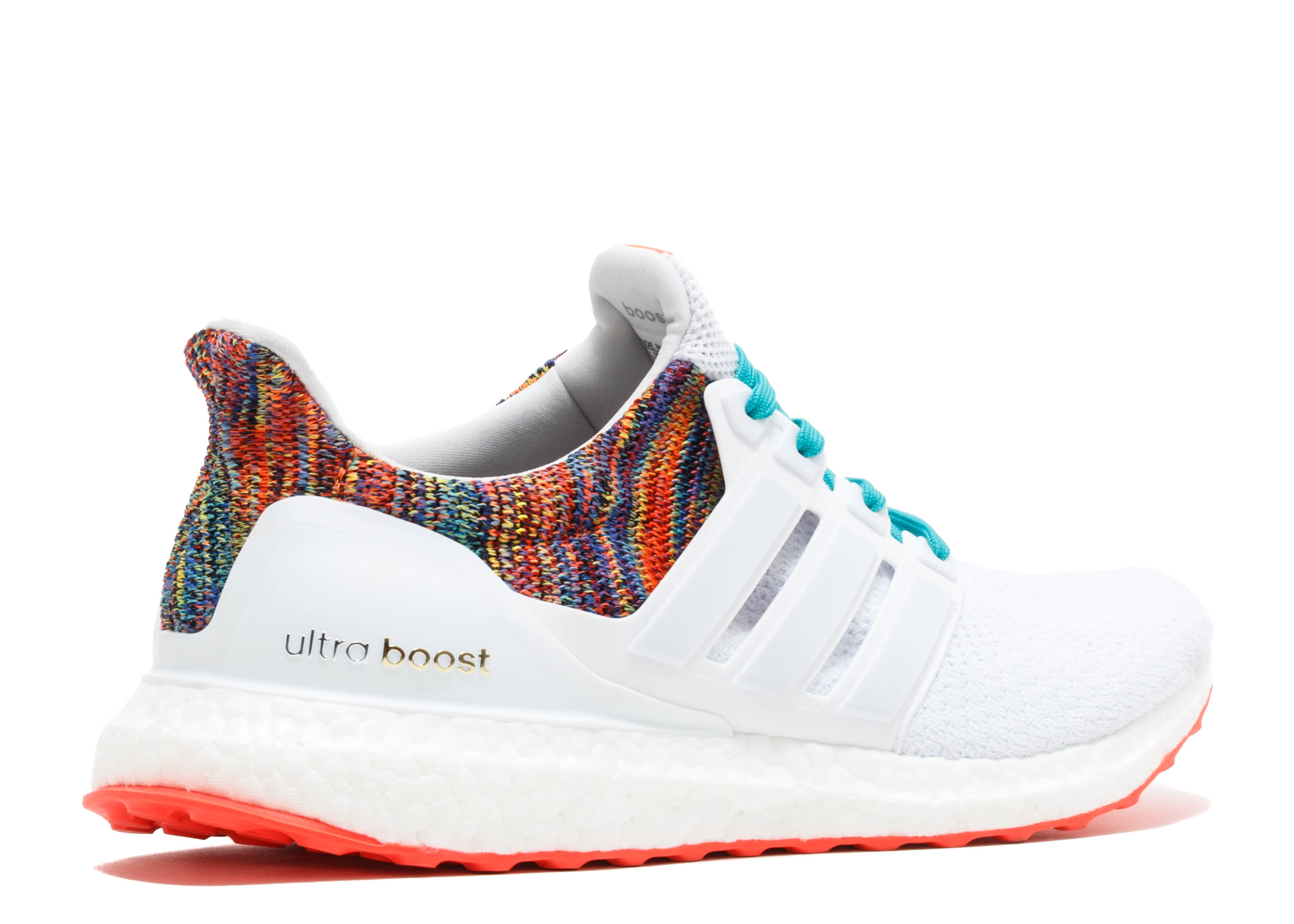 ultra boost 2 0 multicolor adidas by1756 white. Black Bedroom Furniture Sets. Home Design Ideas