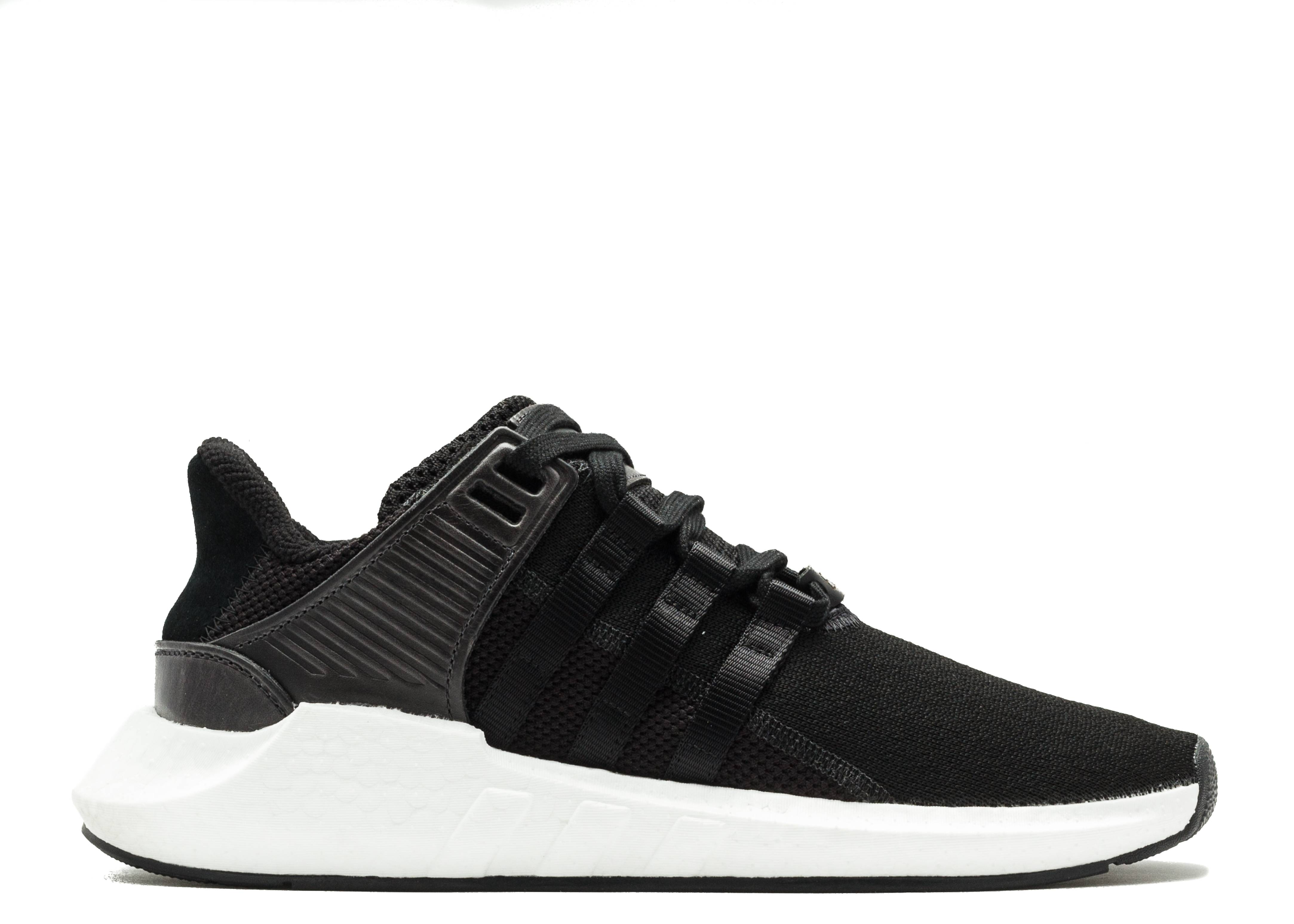 eqt support black and white
