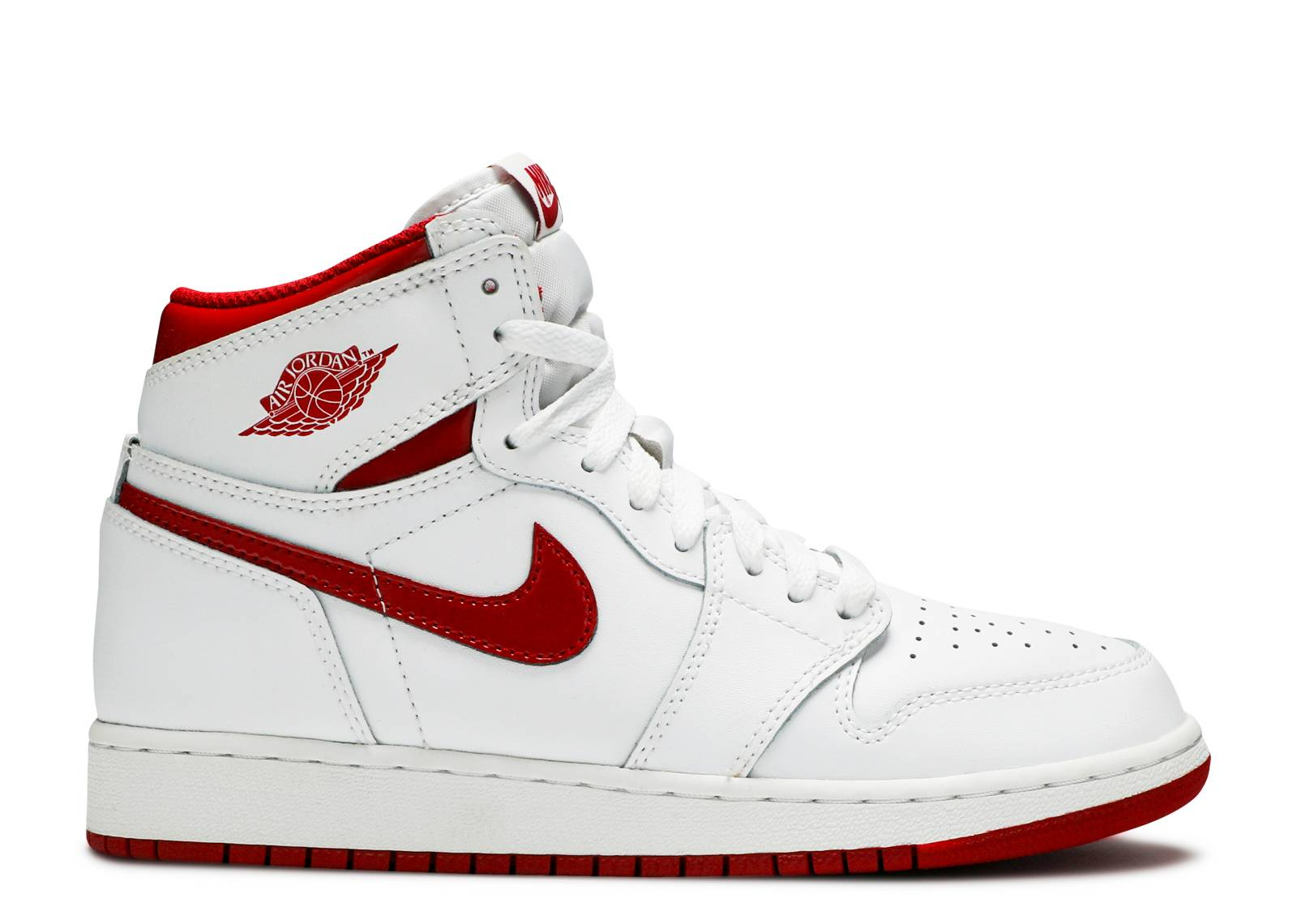 "air jordan 1 retro high og bg (gs) ""varsity red 2017 release"""