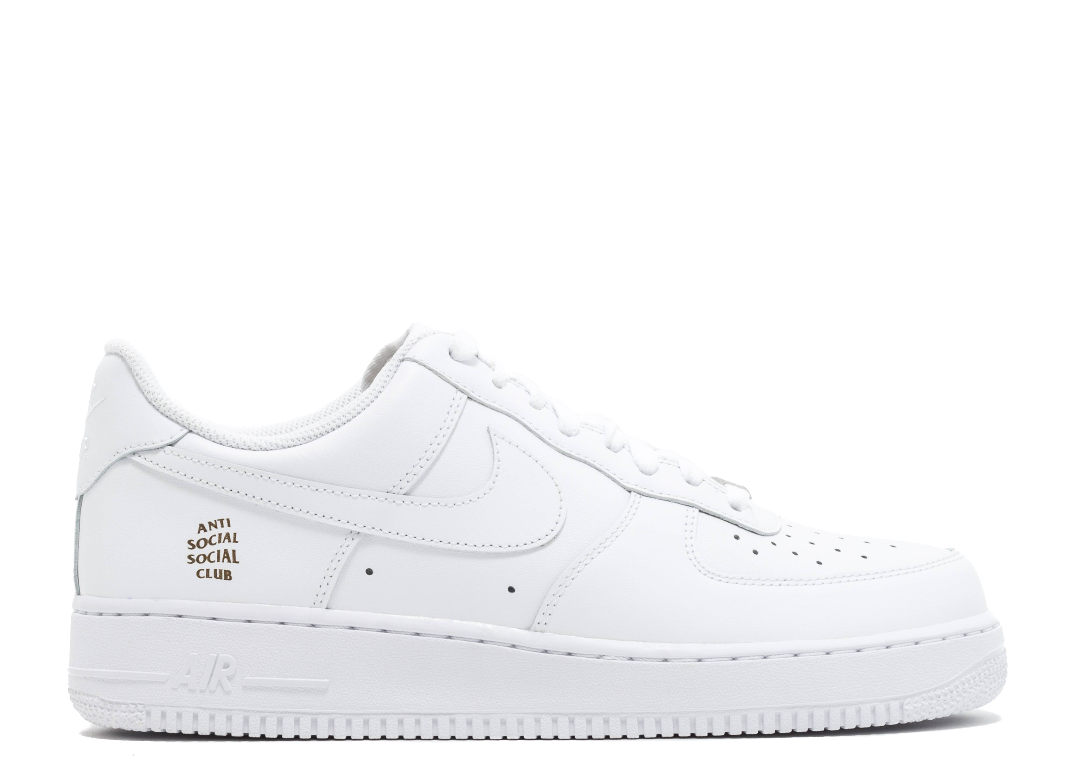 "air force 1 '07 ""anti social social club"""