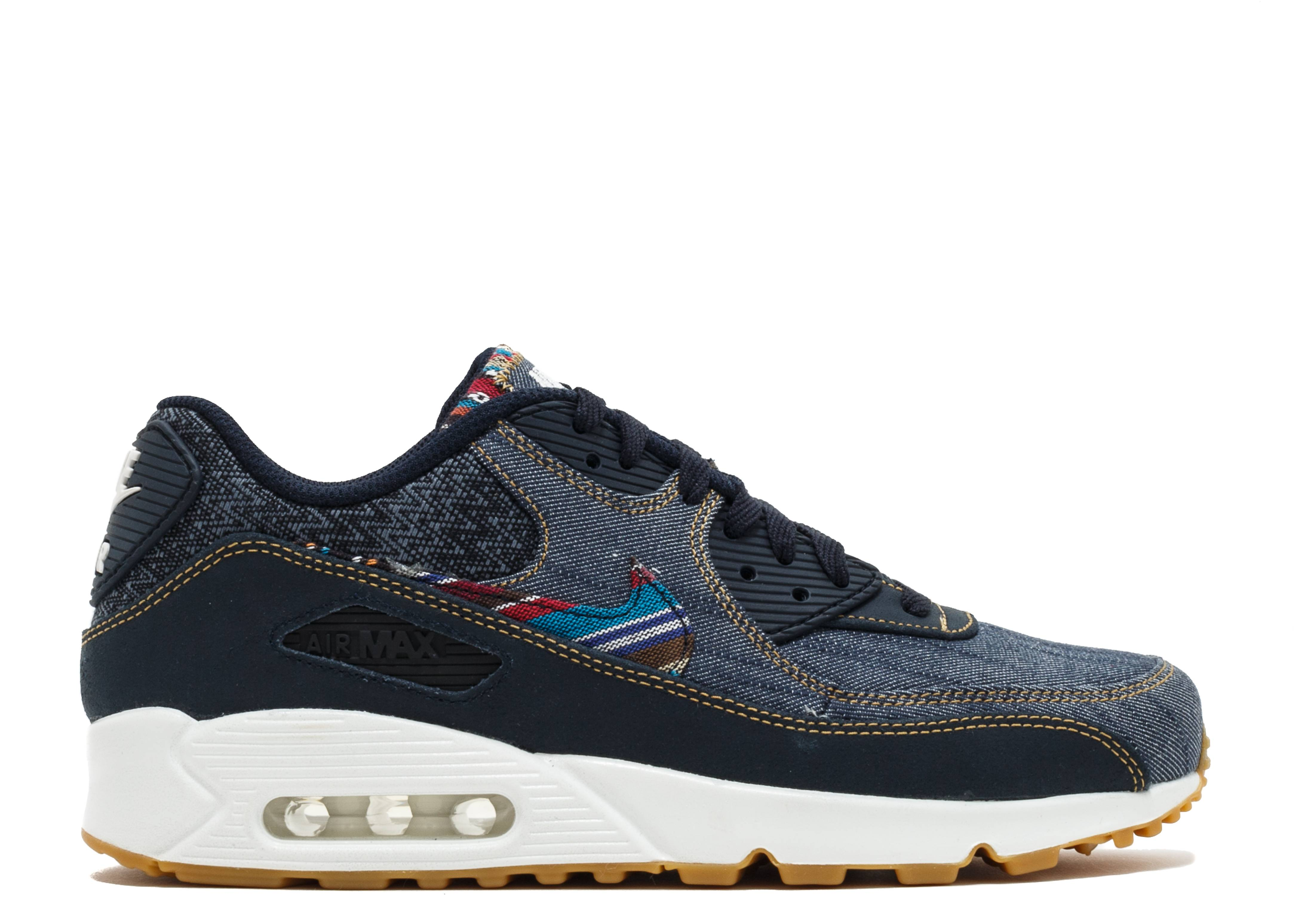 nike air max 90 premium id animal skull
