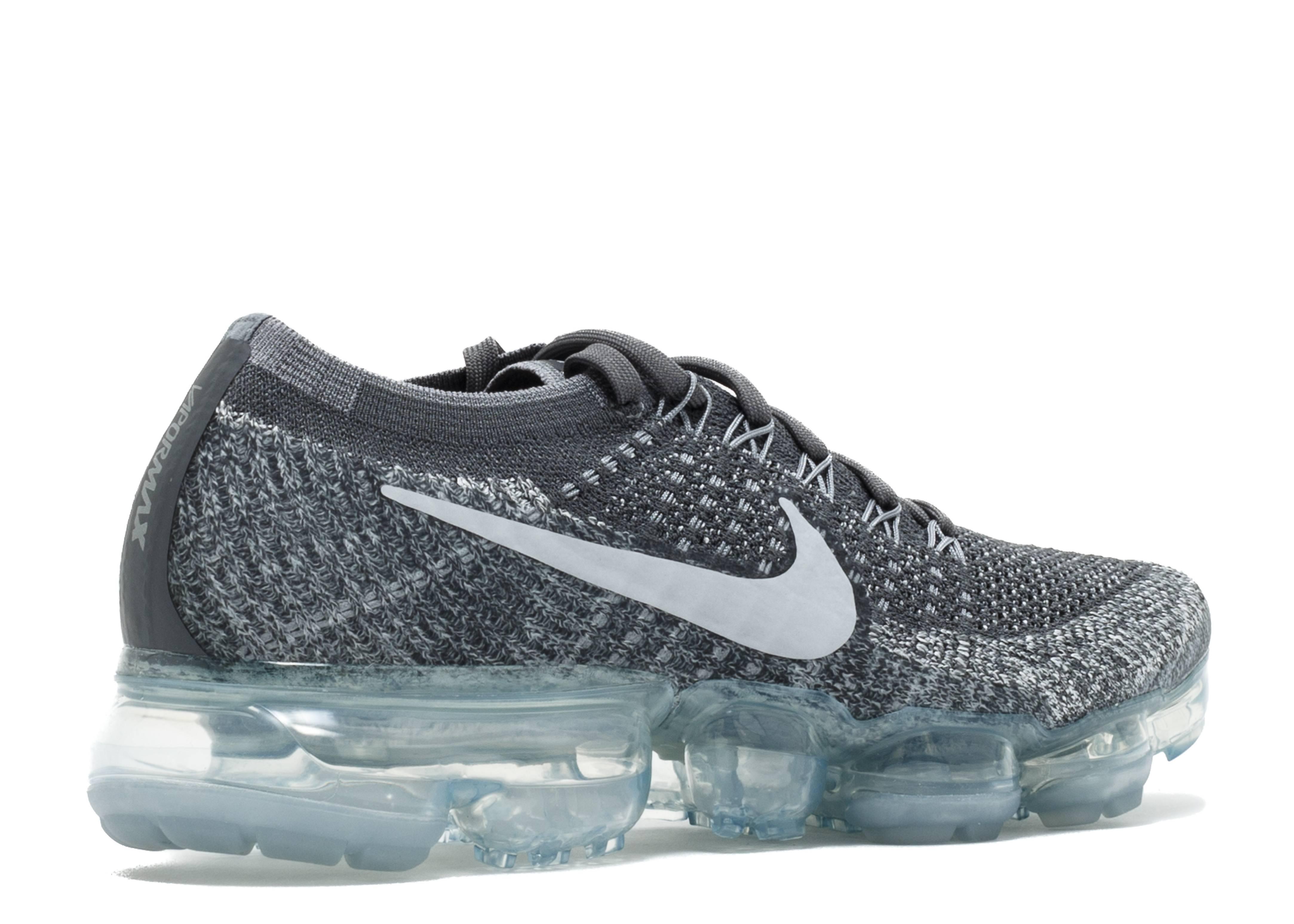 558869f8d217ae Wmns Nike Air Vapormax Flyknit - Nike - 849557 002 - dark grey black-wolf  grey