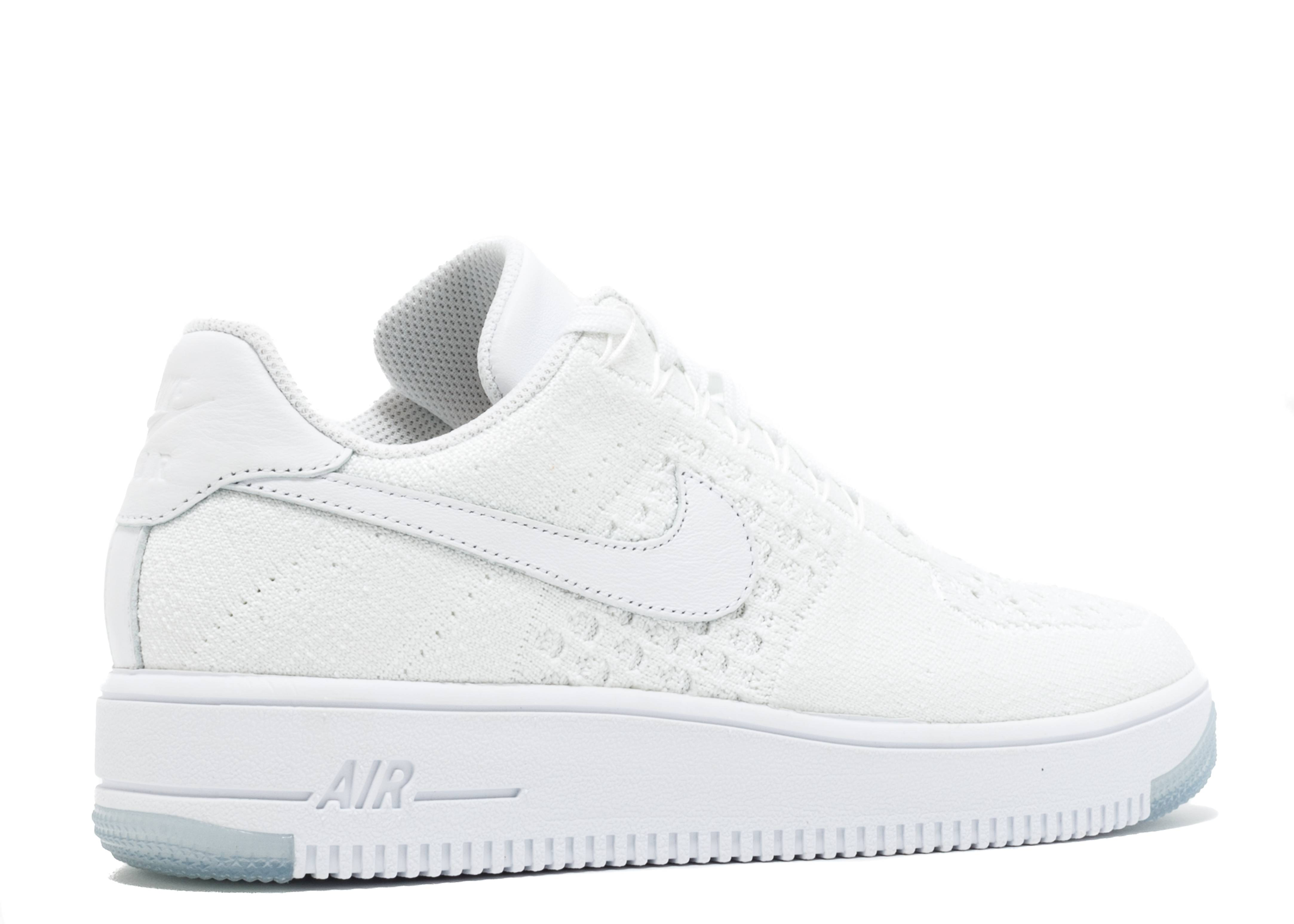 e5c5d975ad0 W Air Force 1 Flyknit Low - Nike - 820256 101 - white white