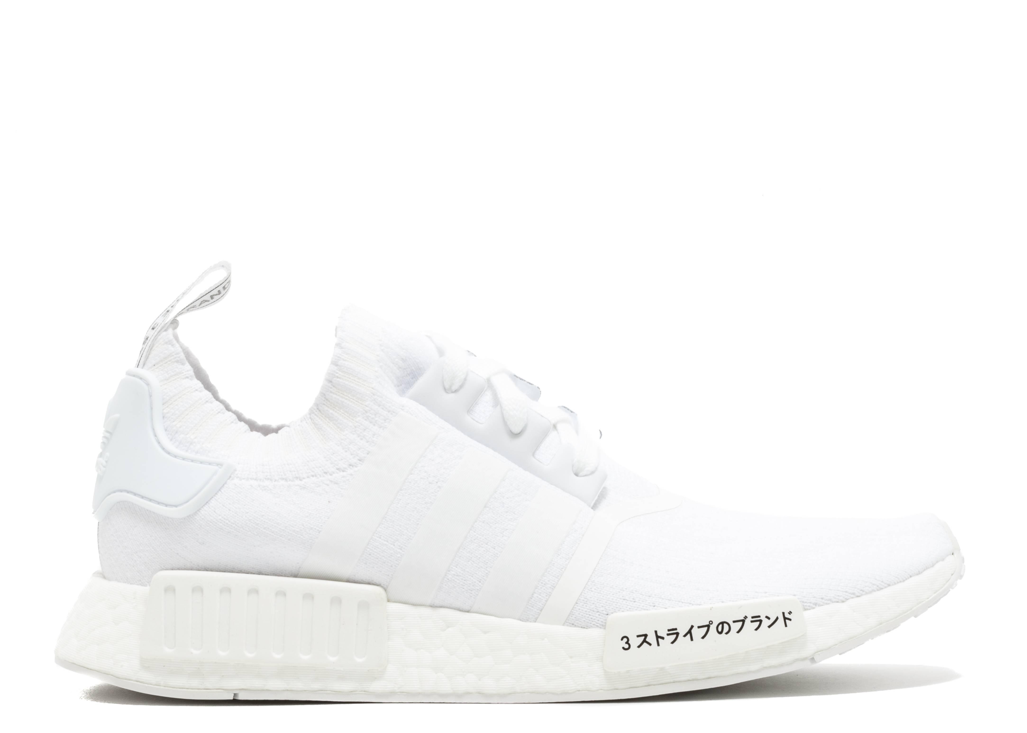 adidas Originals NMD R1 PK Primeknit Runner Boost Triple White 'Japan Pack' white white BZ0221
