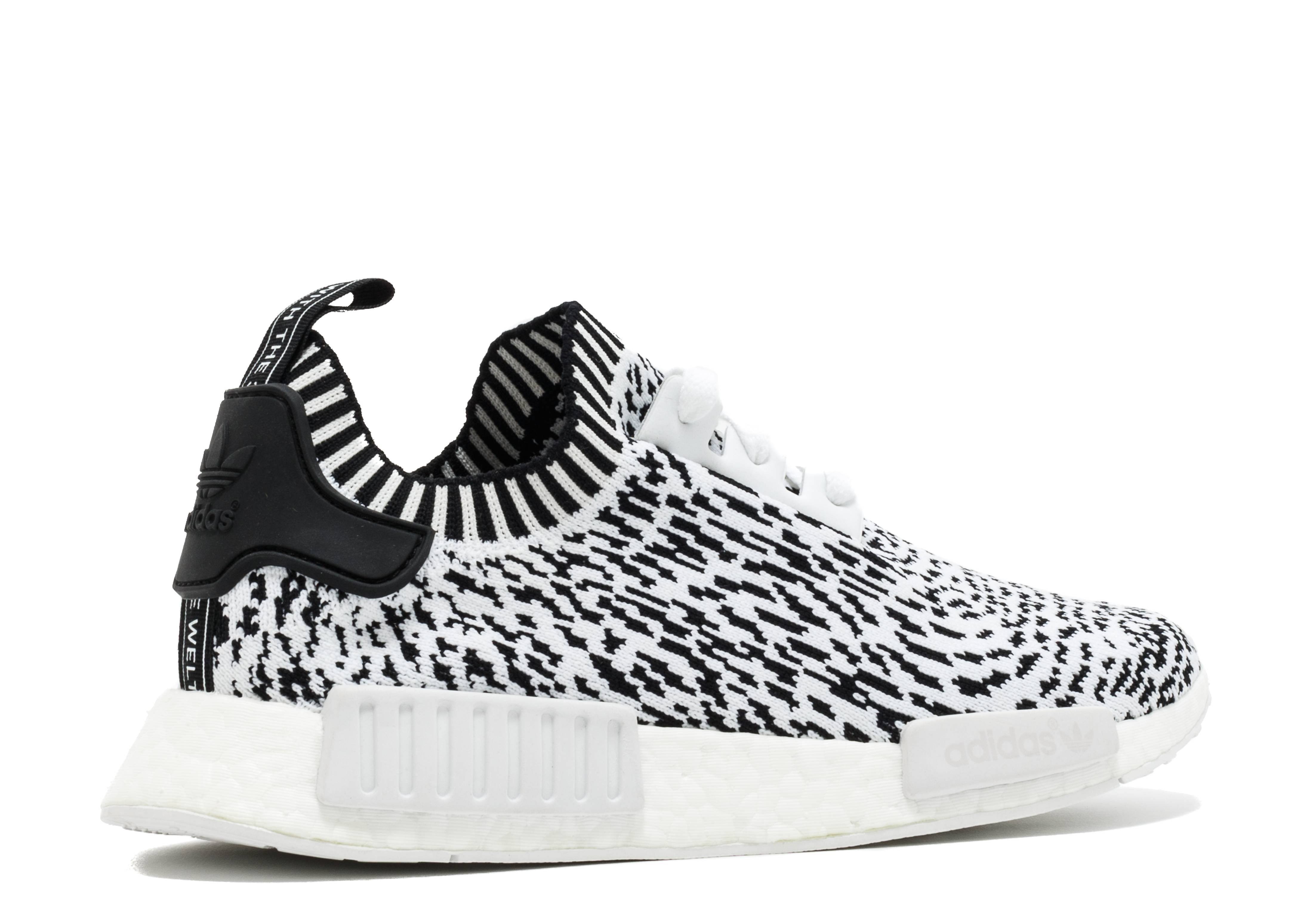 e782b11f3c59 NMD R1 PK - Adidas - bz0219 - white black white