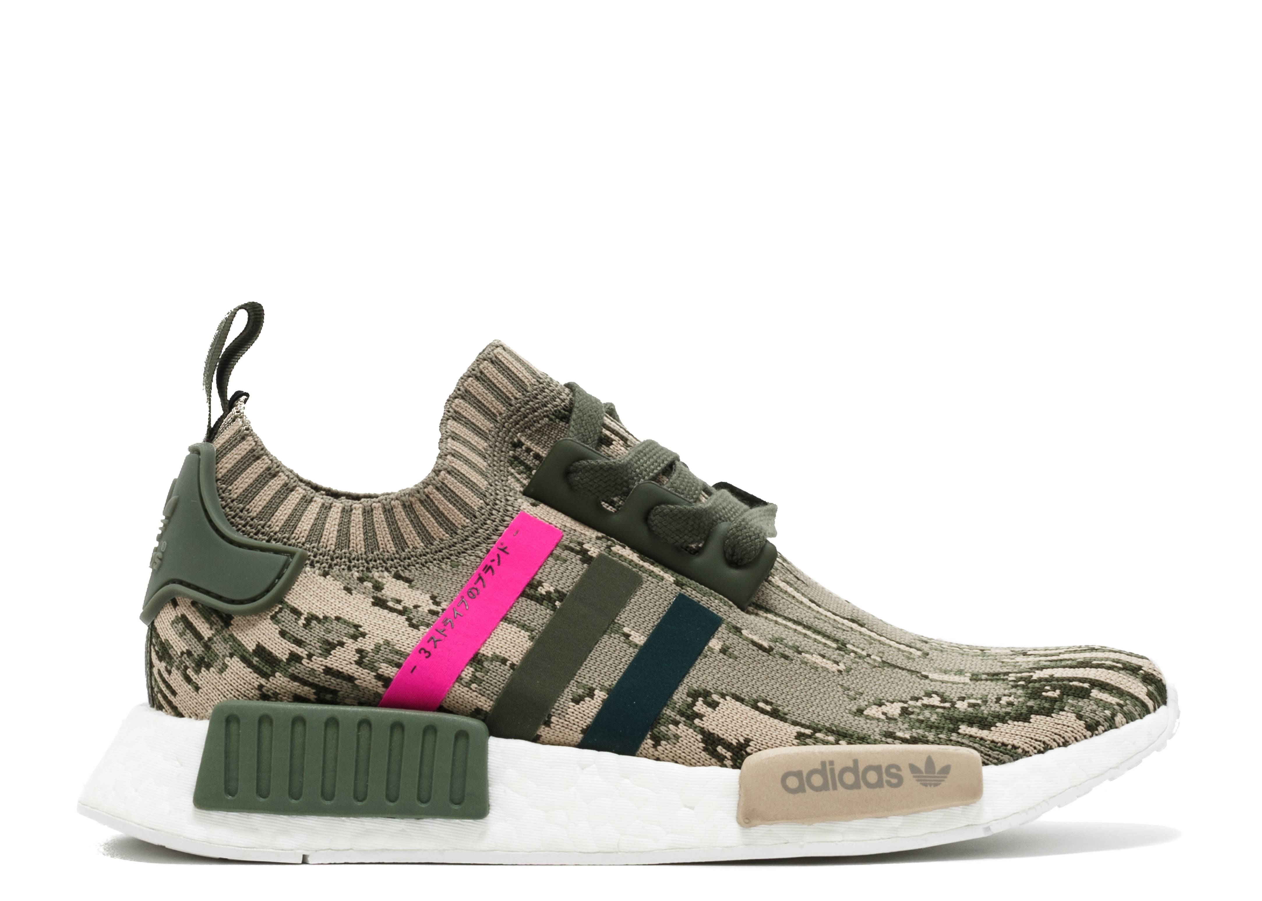 4ff248a2337e NMD R1 W PK - Adidas - by9864 - green pink green