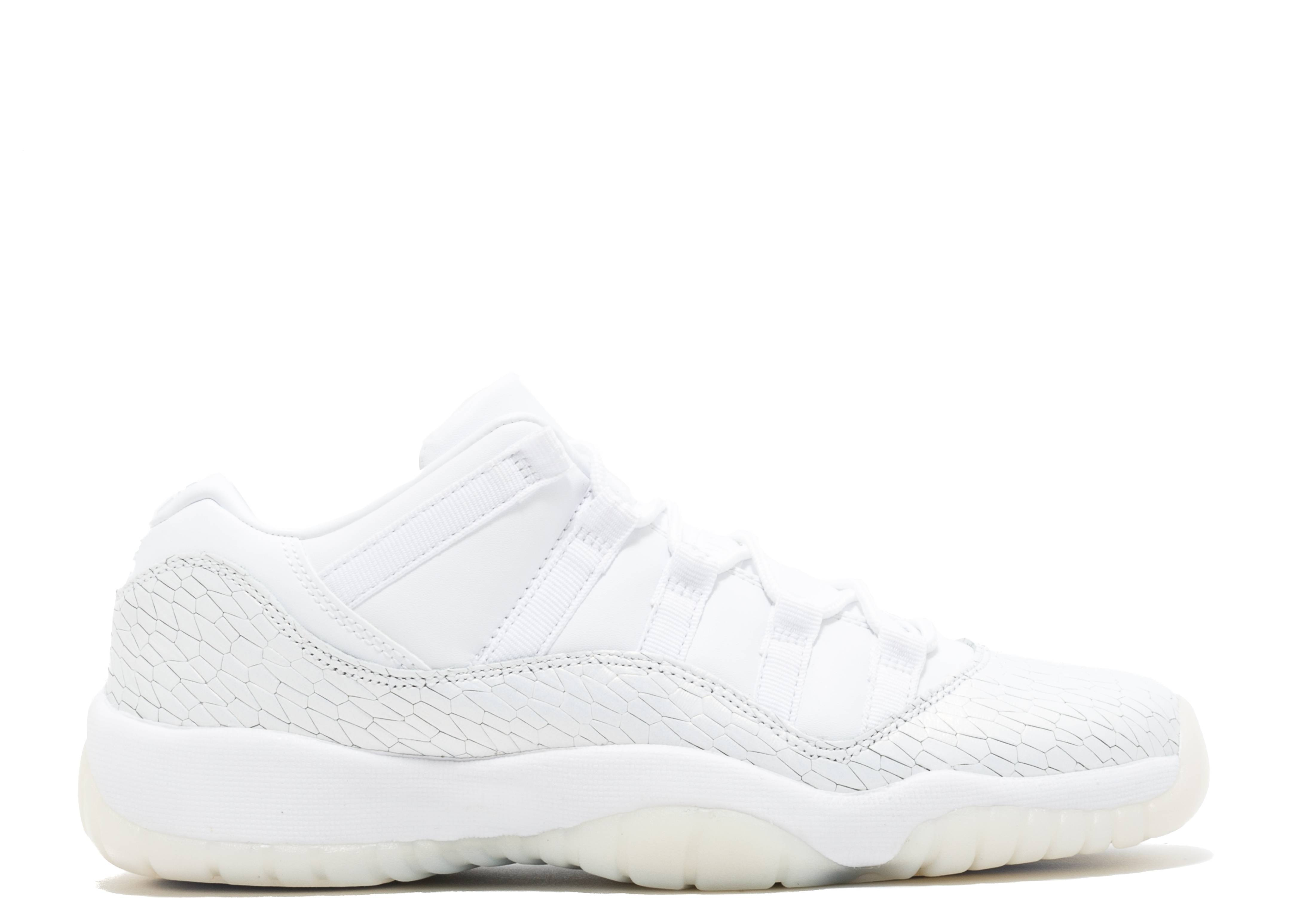Air Jordan 11 Tout Blanc