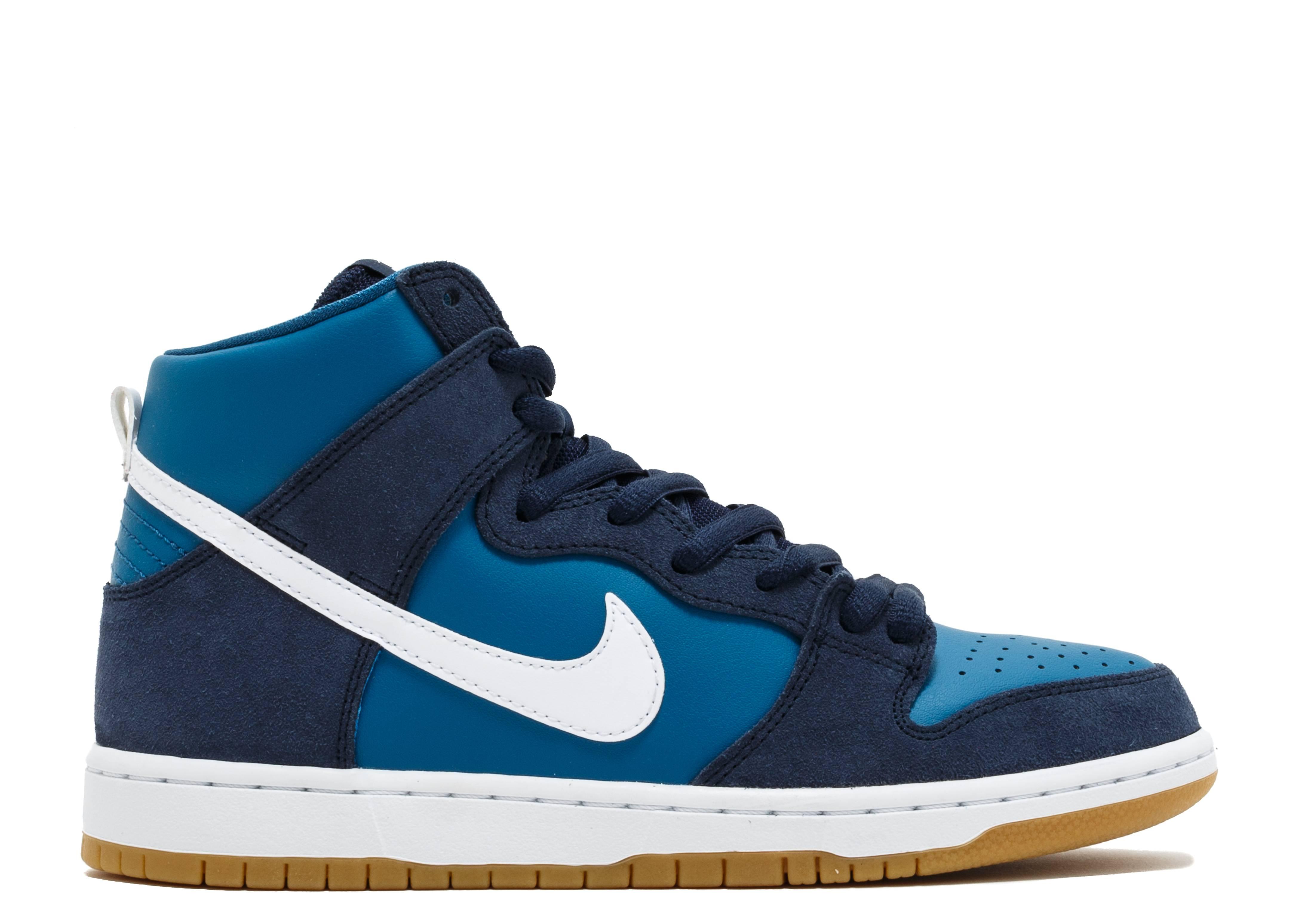 "Nike Sb Zoom Dunk High Pro ""Industrial Blue"""