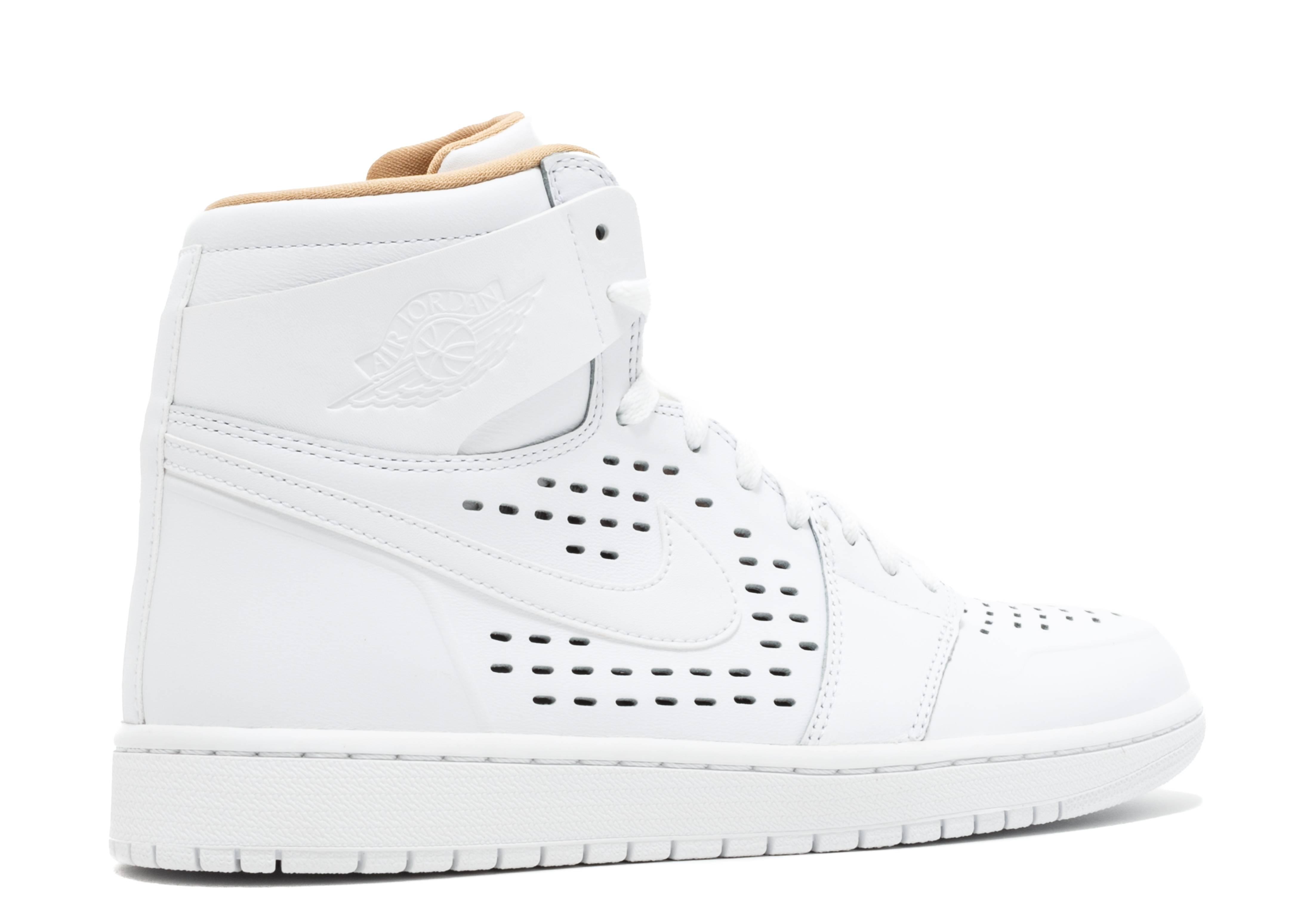 973e6a199ad Air Jordan 1 - Air Jordan - 845018 142 - white white-vachetta tan ...