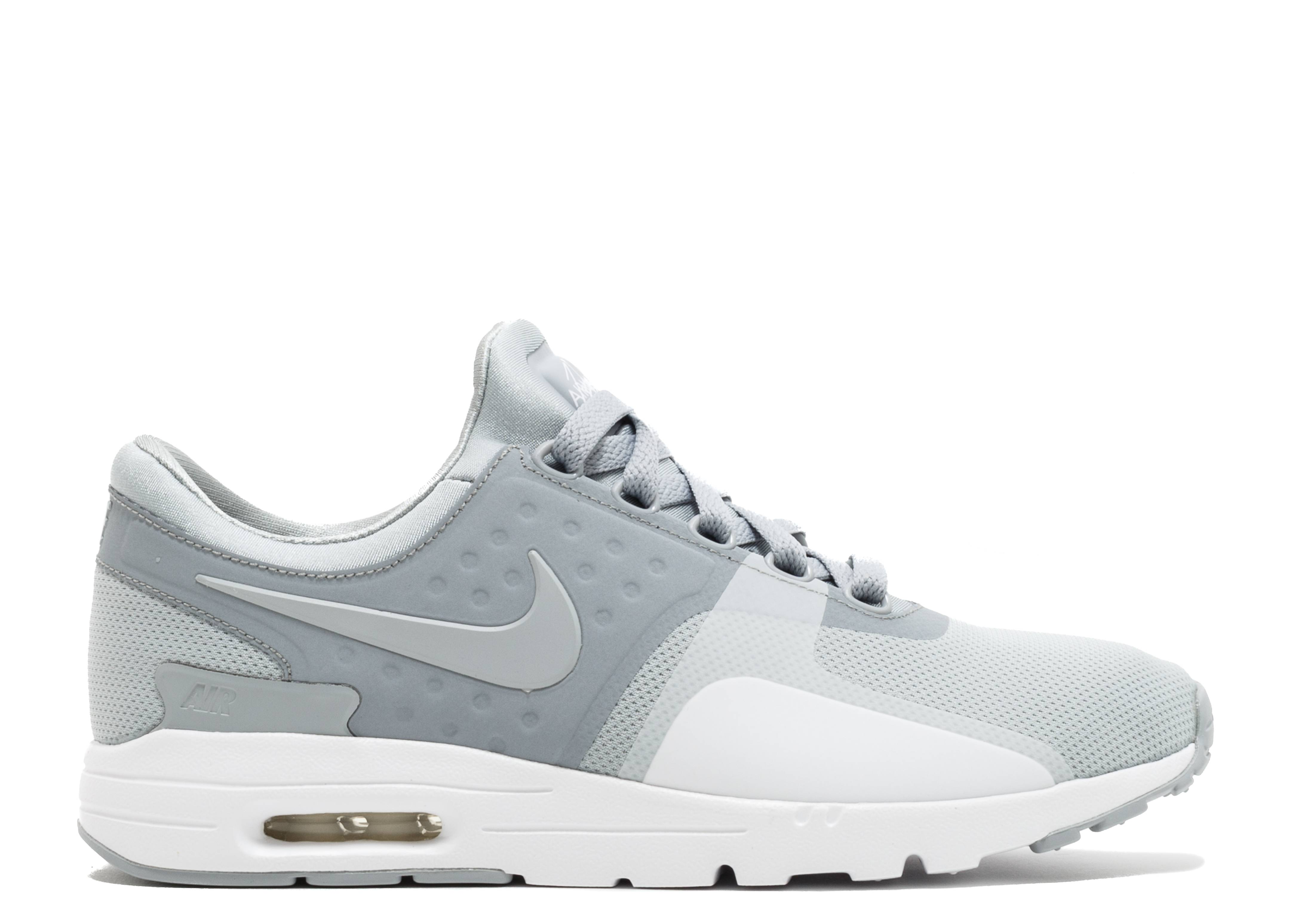4a04aef6d6f0 Wmns Air Max Zero - Nike - 857661 009 - wolf grey wolf grey-white ...