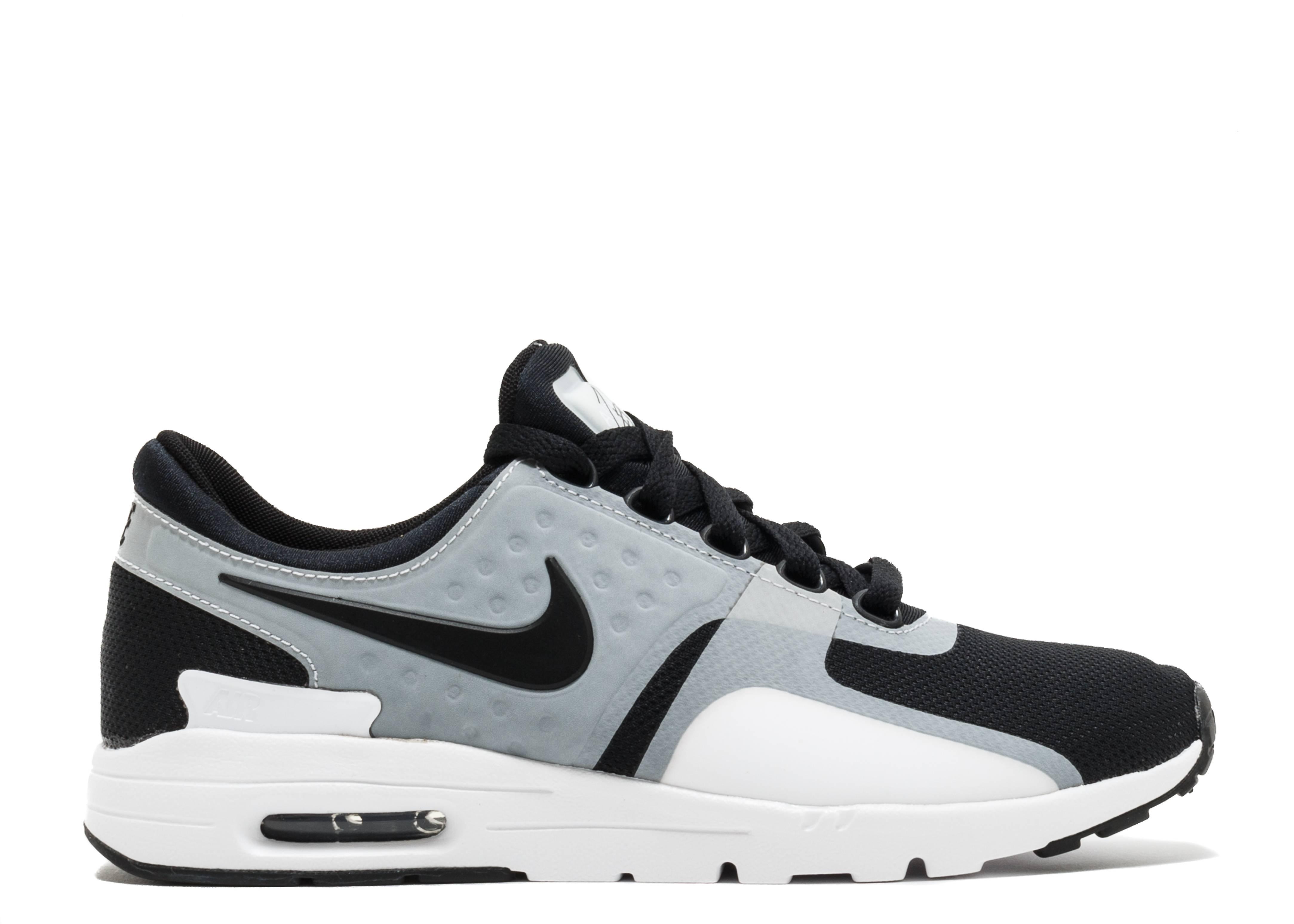 Nike Air Max Zero QS Silver Bullet ~ 863700 002 ~ Uk Size 6.5 ~ Euro 40.5