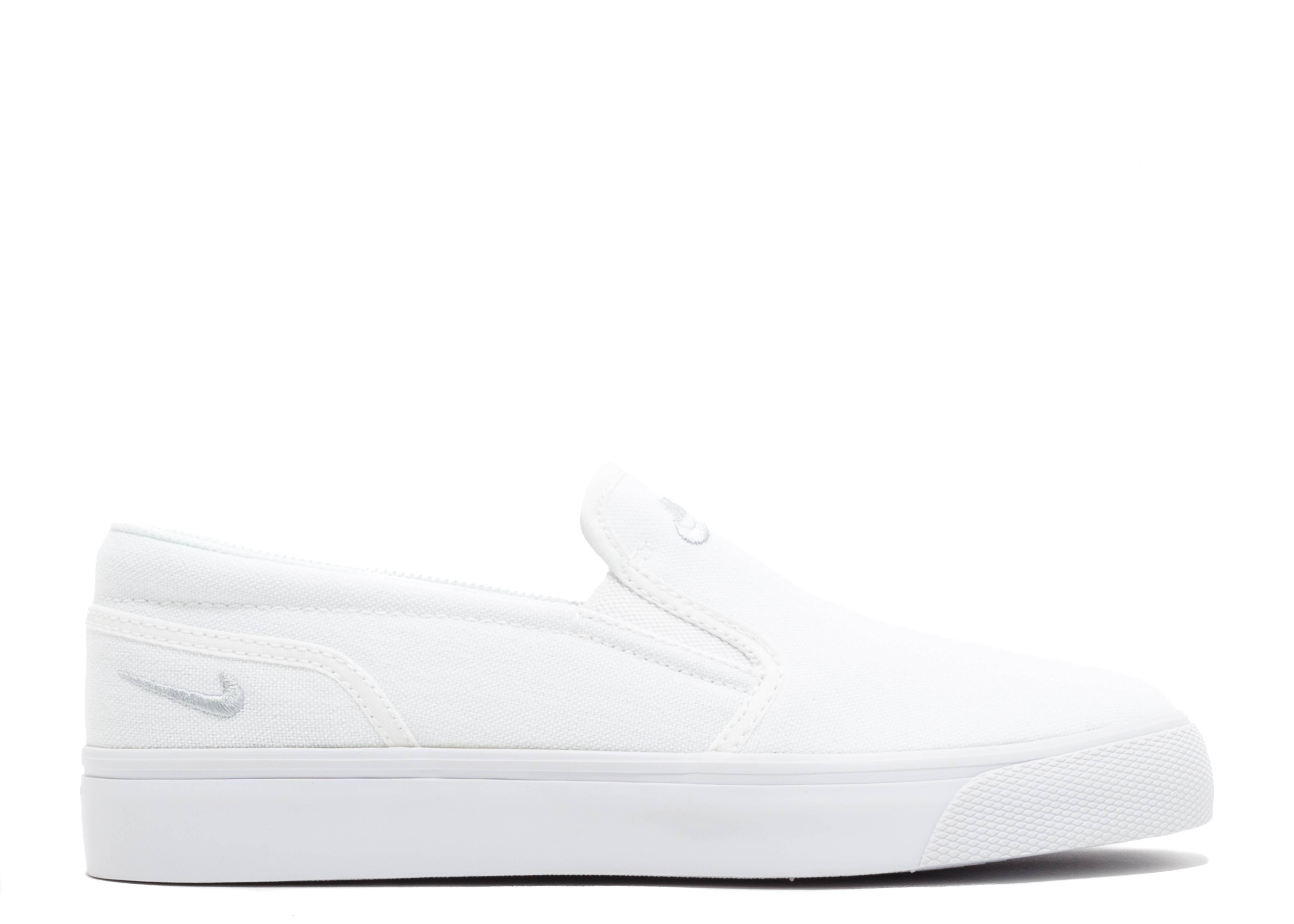 cf9febacda97 WMNS TOKI SLIP CANVAS - Nike - 724770 100 - white white