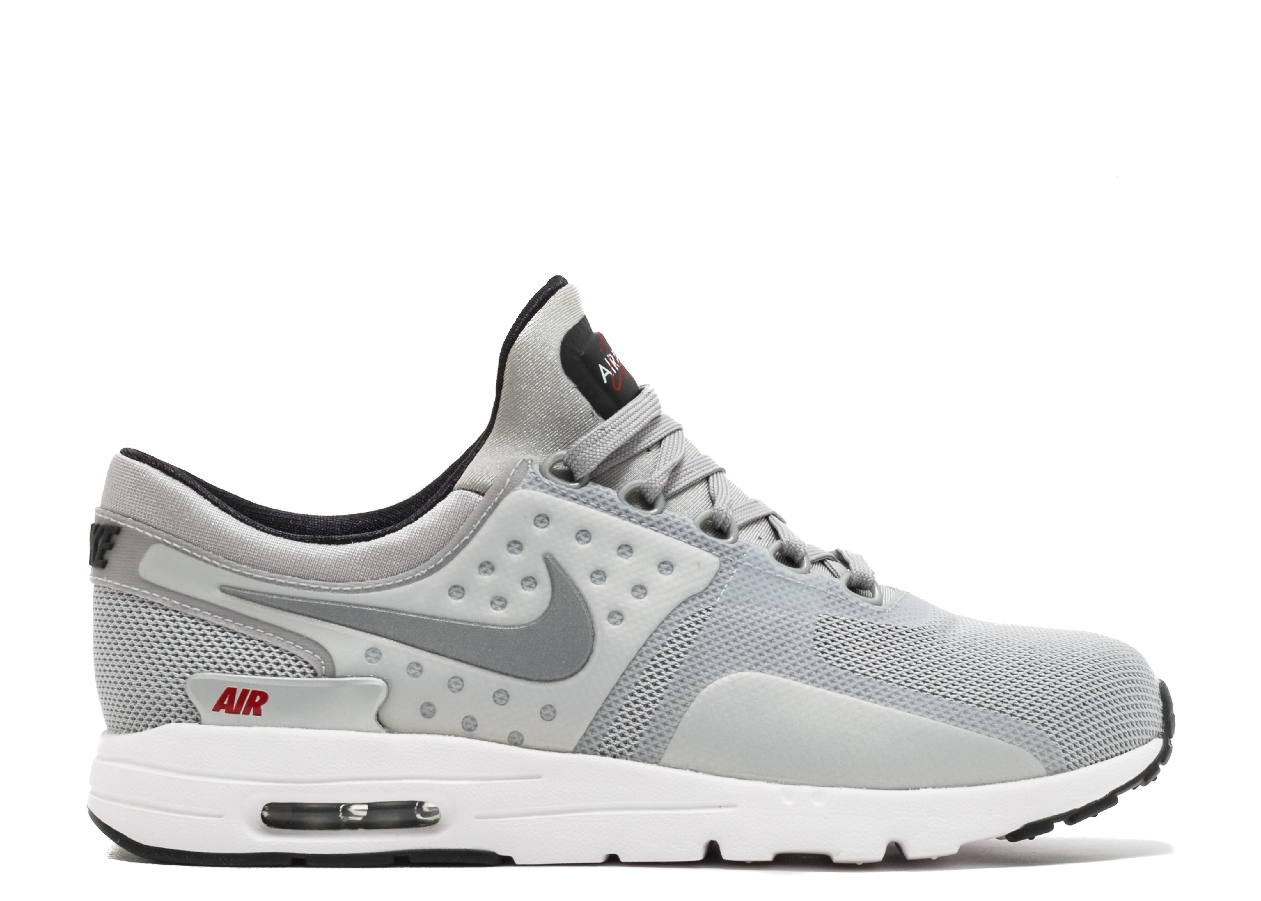 cepillo Lima Empleador  Wmns Air Max Zero QS 'Silver Bullet' - Nike - 863700 002 - metallic  silver/metallic silver-university red   Flight Club