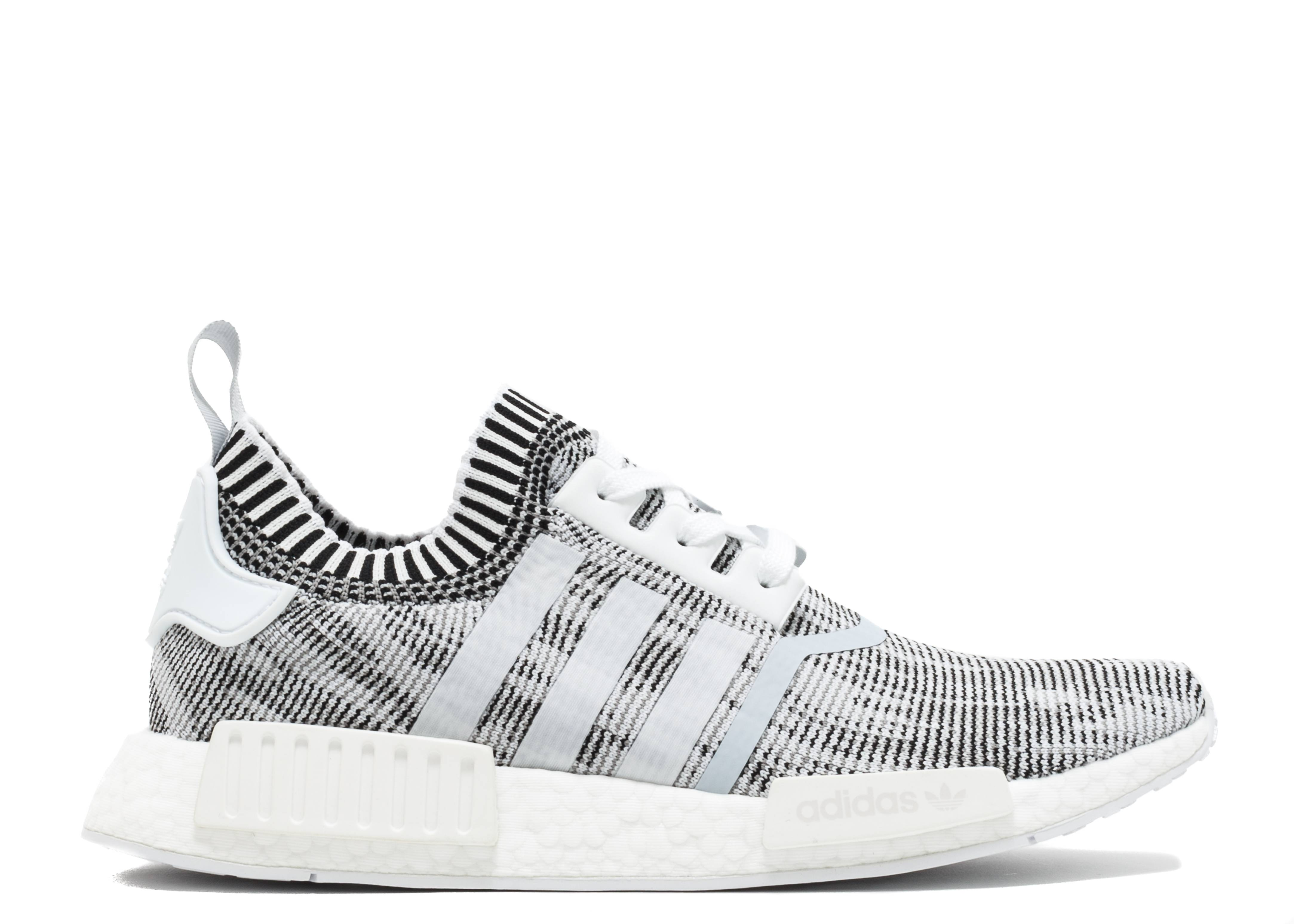 nmd r1 pk oreo adidas by1911 white grey black. Black Bedroom Furniture Sets. Home Design Ideas