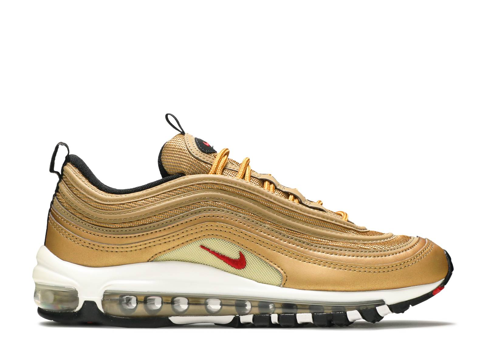 "air max 97 qs (gs) ""metallic gold ""2017 release"""""