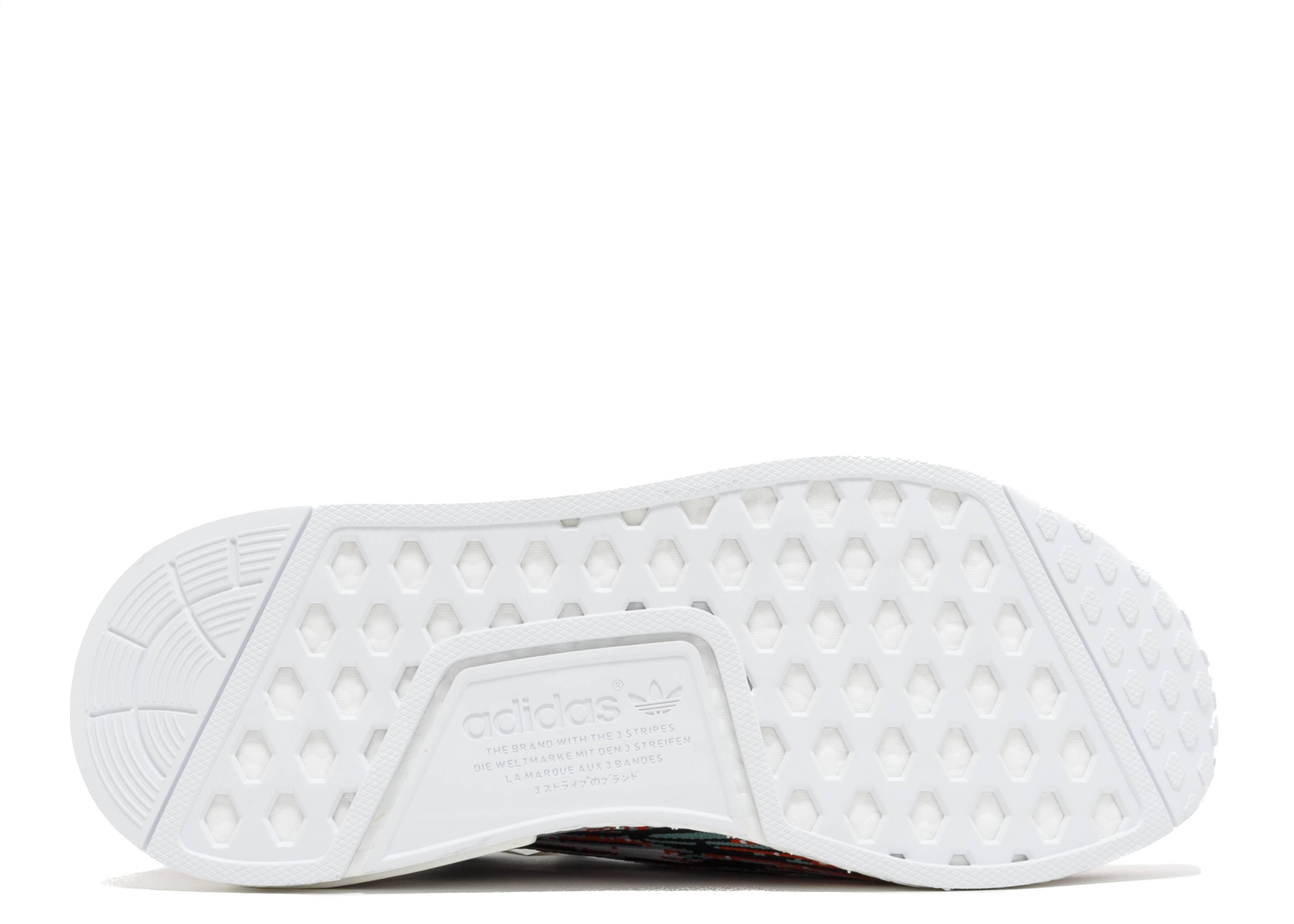 7db1e0114 adidas NMD R1 Sneakersnstuff Datamosh Collegiate Orange - 4