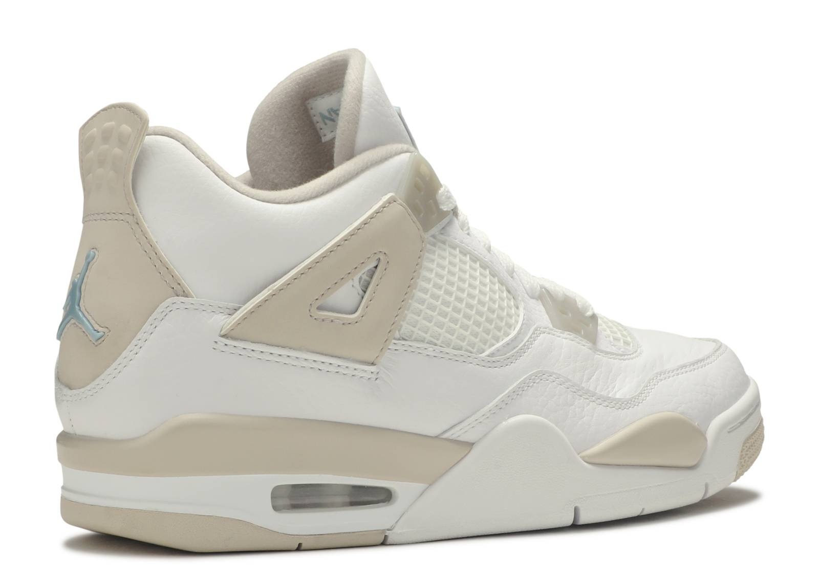 resistencia tortura Conectado  Air Jordan 4 Retro GS 'Linen' - Air Jordan - 487724 118 - white/boarder  blue-light sand | Flight Club