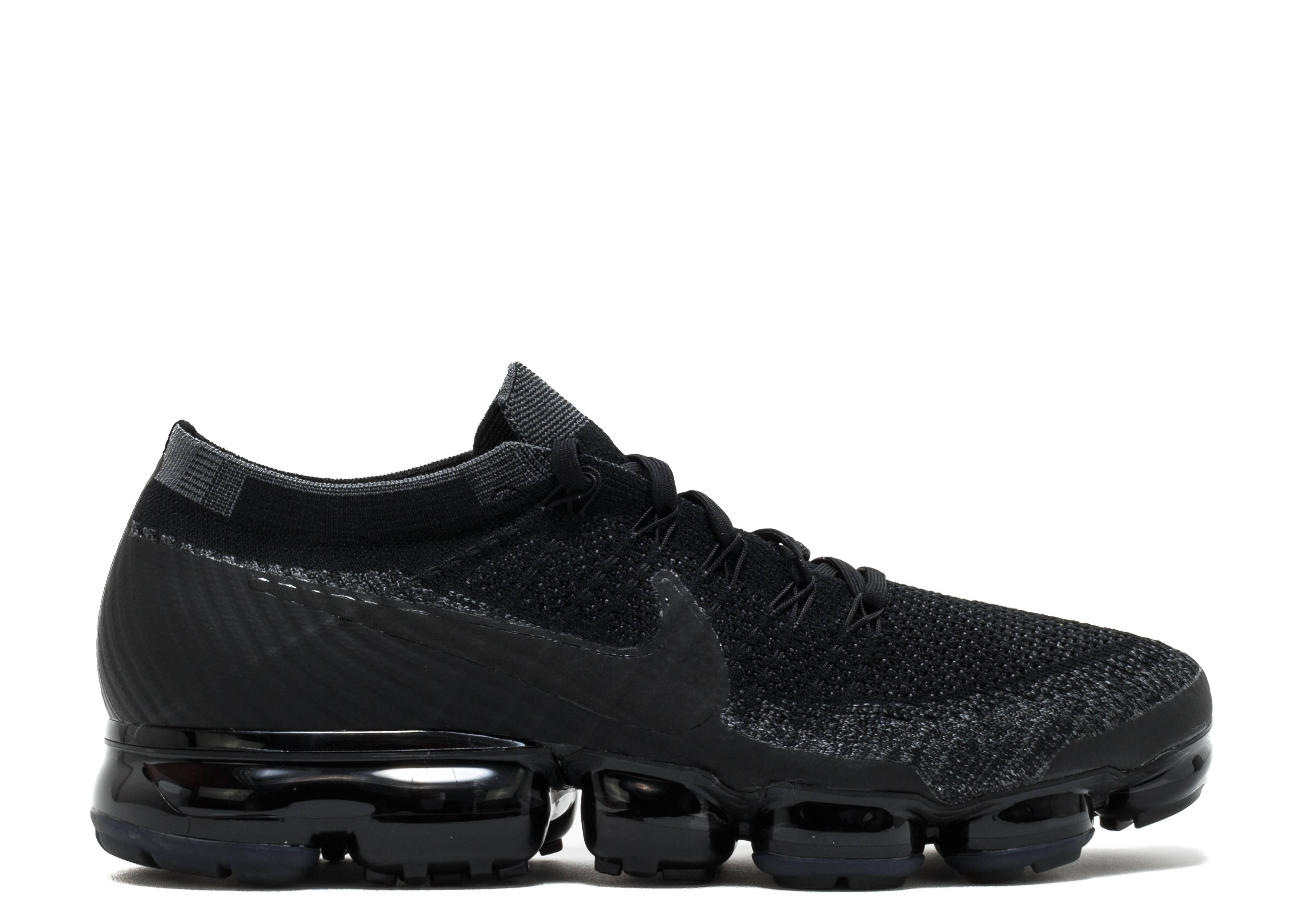 """Nike Air Vapormax Flyknit """"triple black nike i.d"""""""
