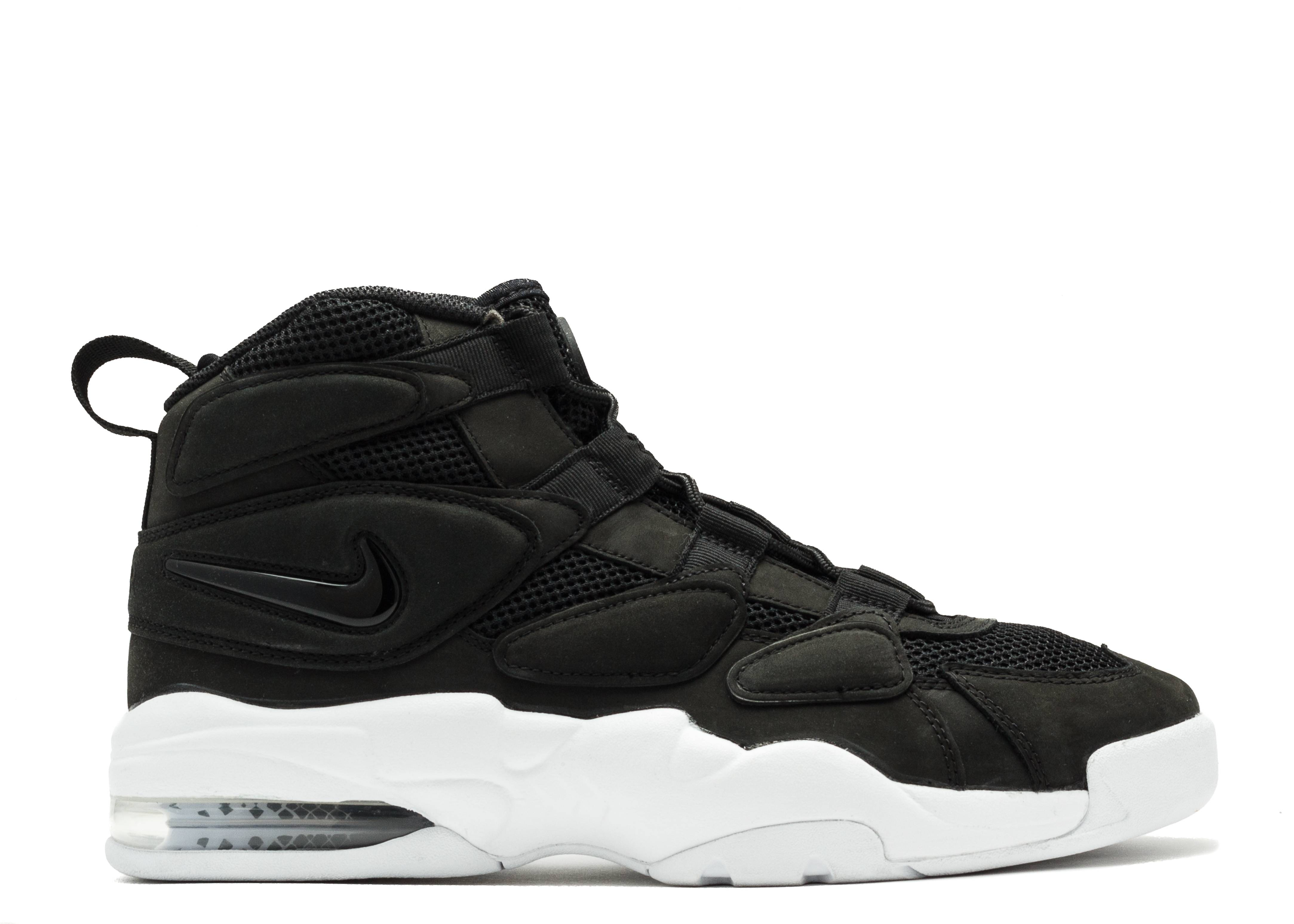Nike air max uptempo 2 black traffic school online for Nike official site italia