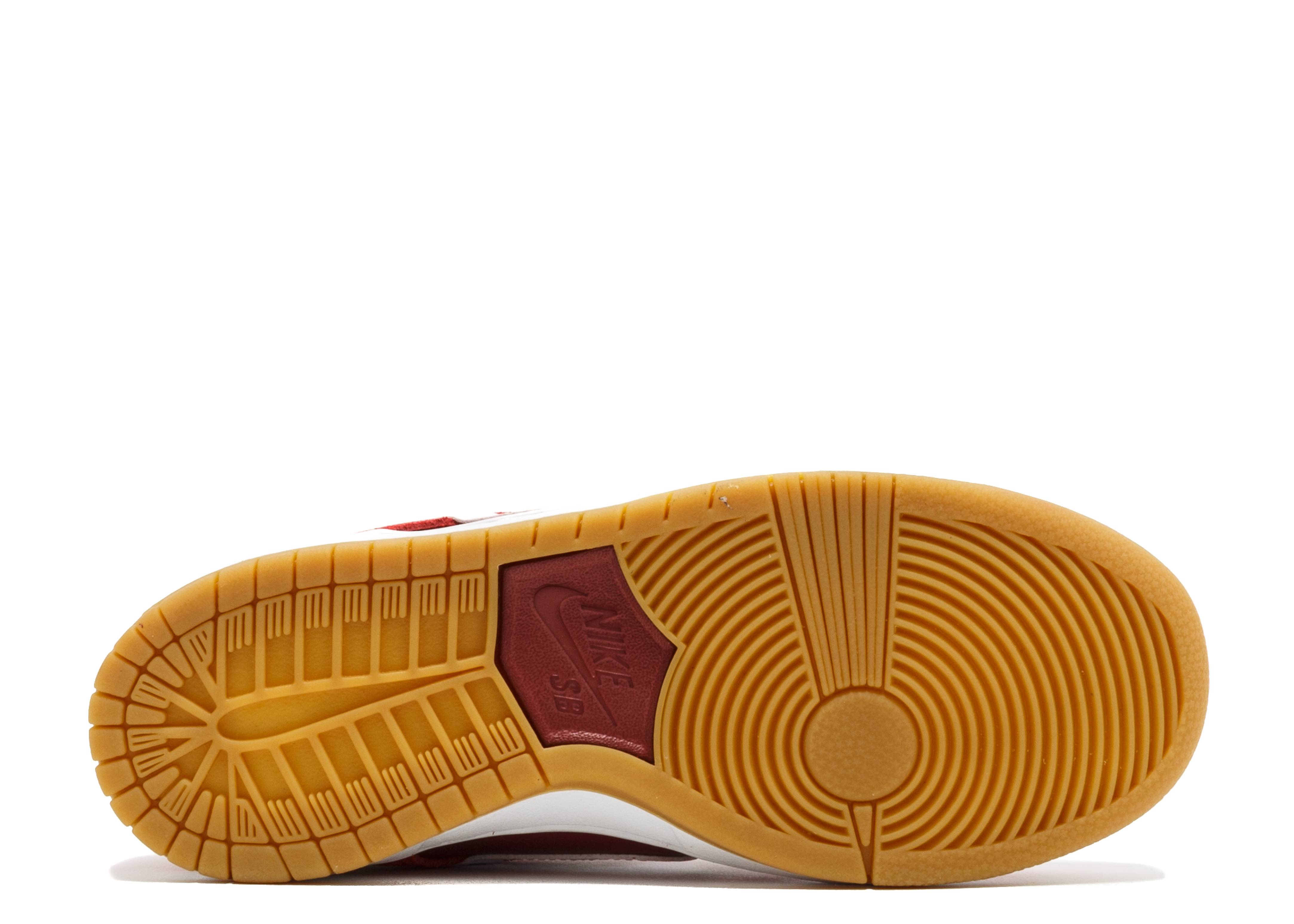 44984df7d317 Nike Sb Zoom Dunk Low Pro - Nike - 854866 616 - track red white-cedar