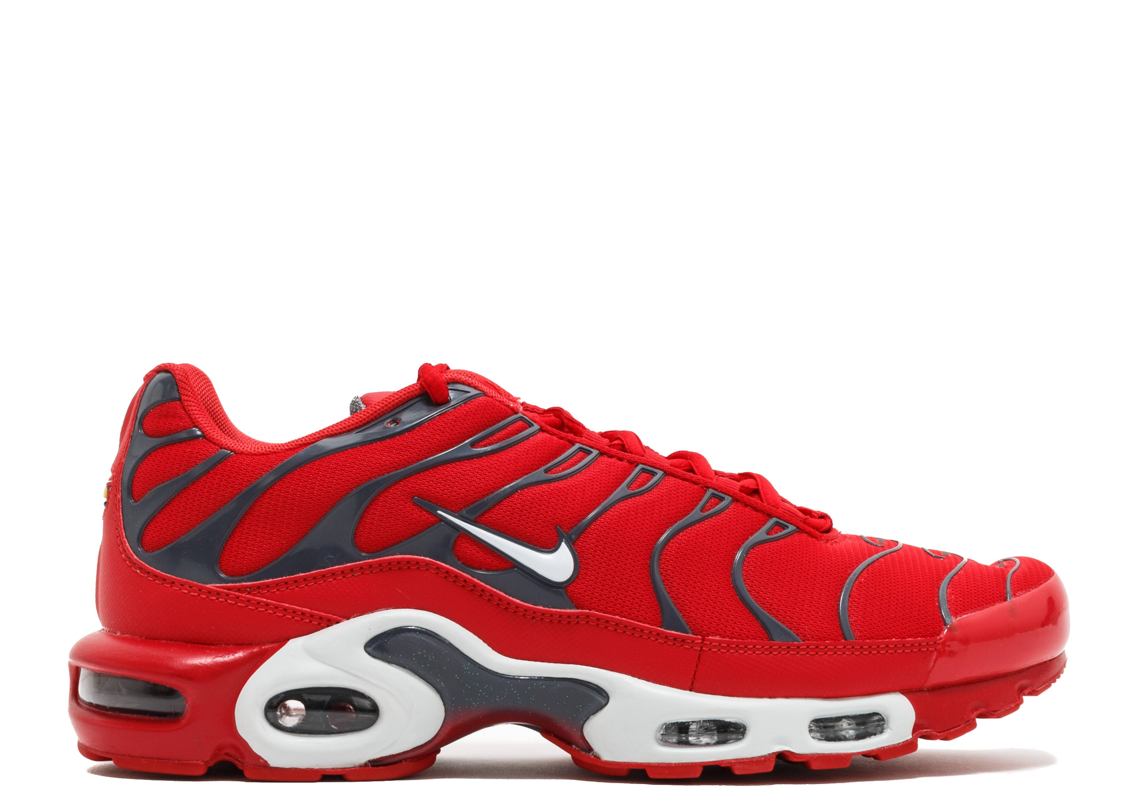 Air Max Plus Quot Red Pure Platinum Quot Nike 852630 600
