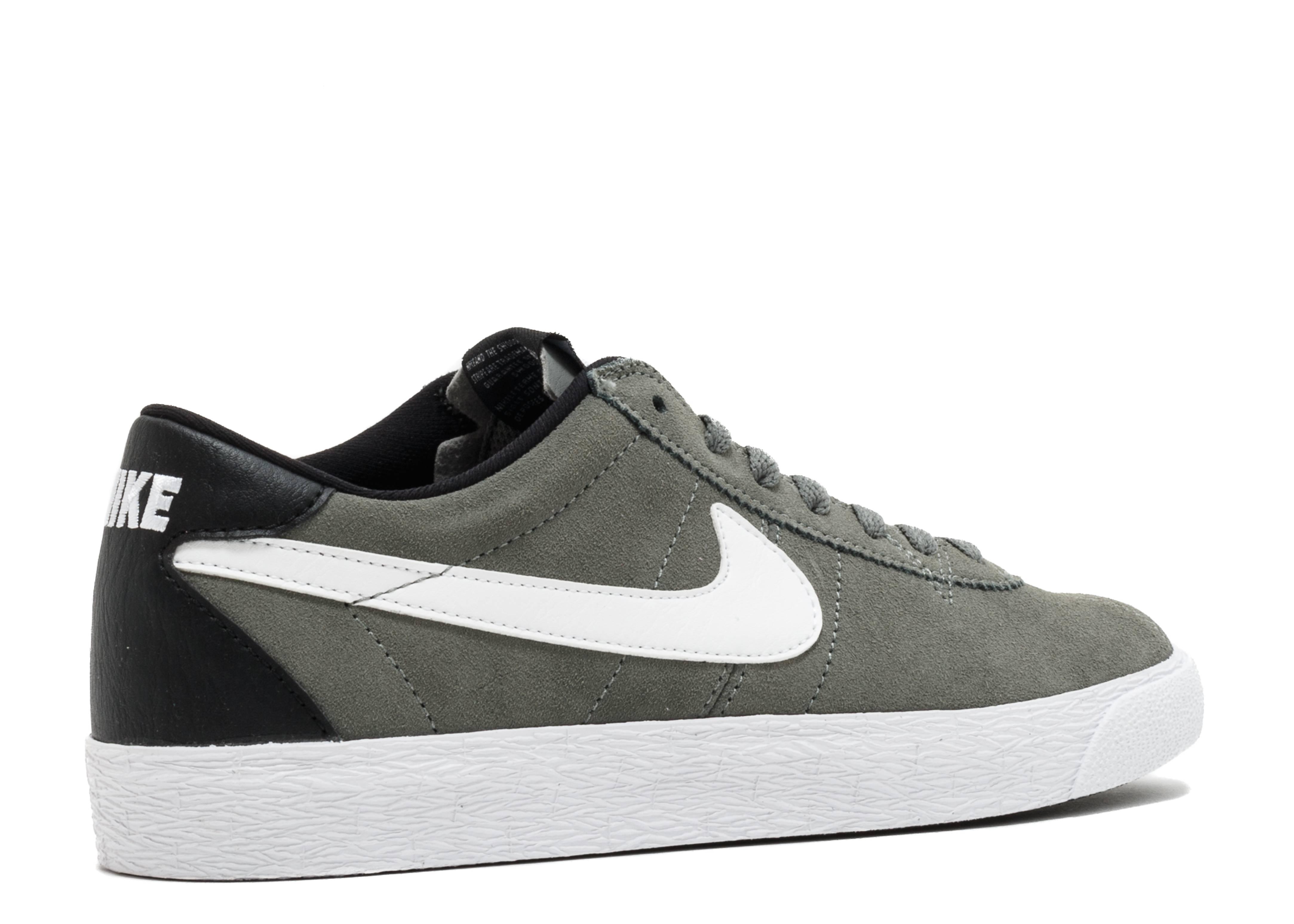46c7b2b78963 Nike Sb Bruin Zoom Prm Se - Nike - 877045 011 - tumbled grey white-white- black