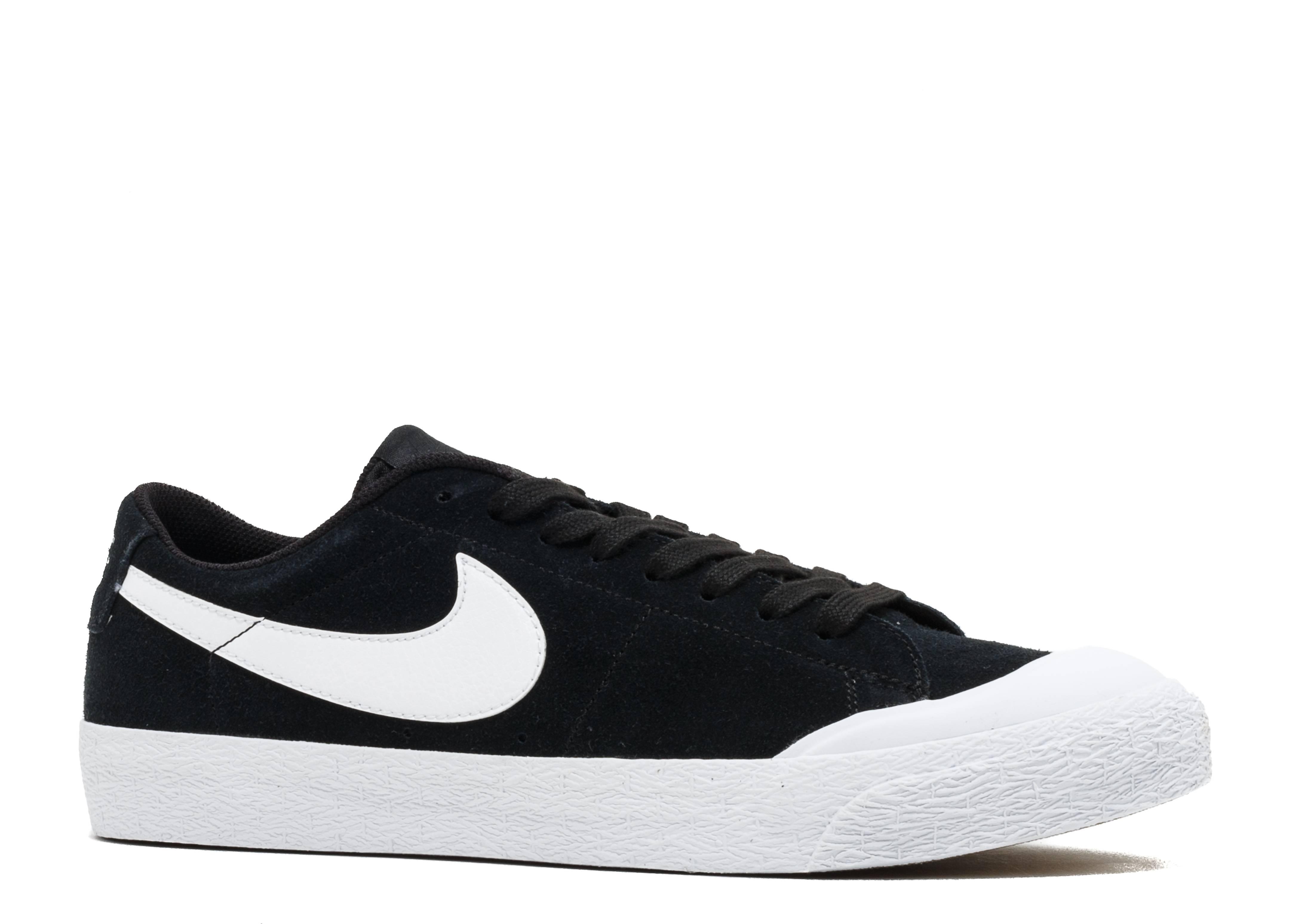 e156ef7761478f Nike Sb Blazer Zoom Low Xt - Nike - 864348 019 - black white-gum light  brown