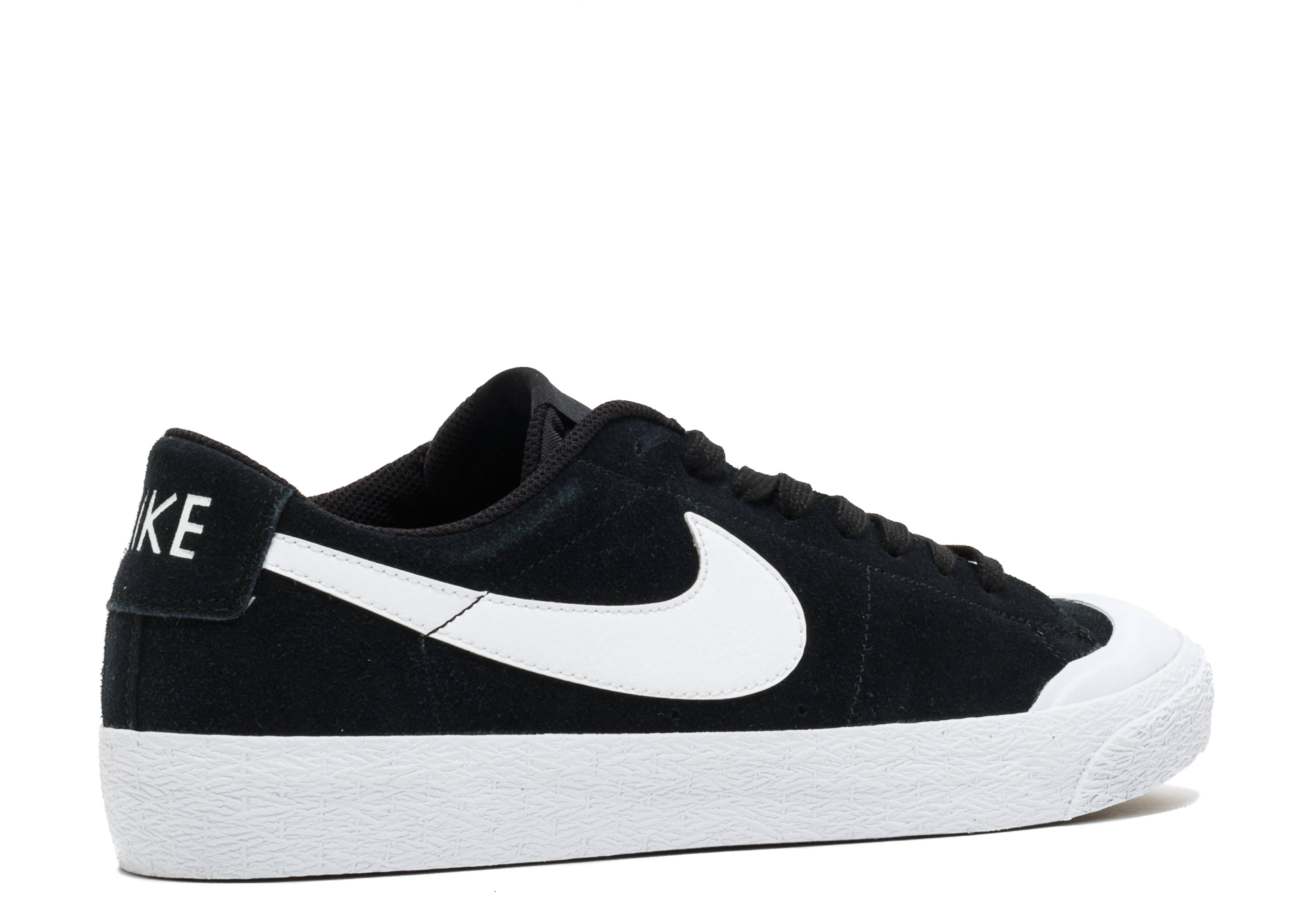 Zoom Blazer Low SB XT 'Black' - Nike - 864348 019 - black/white ...
