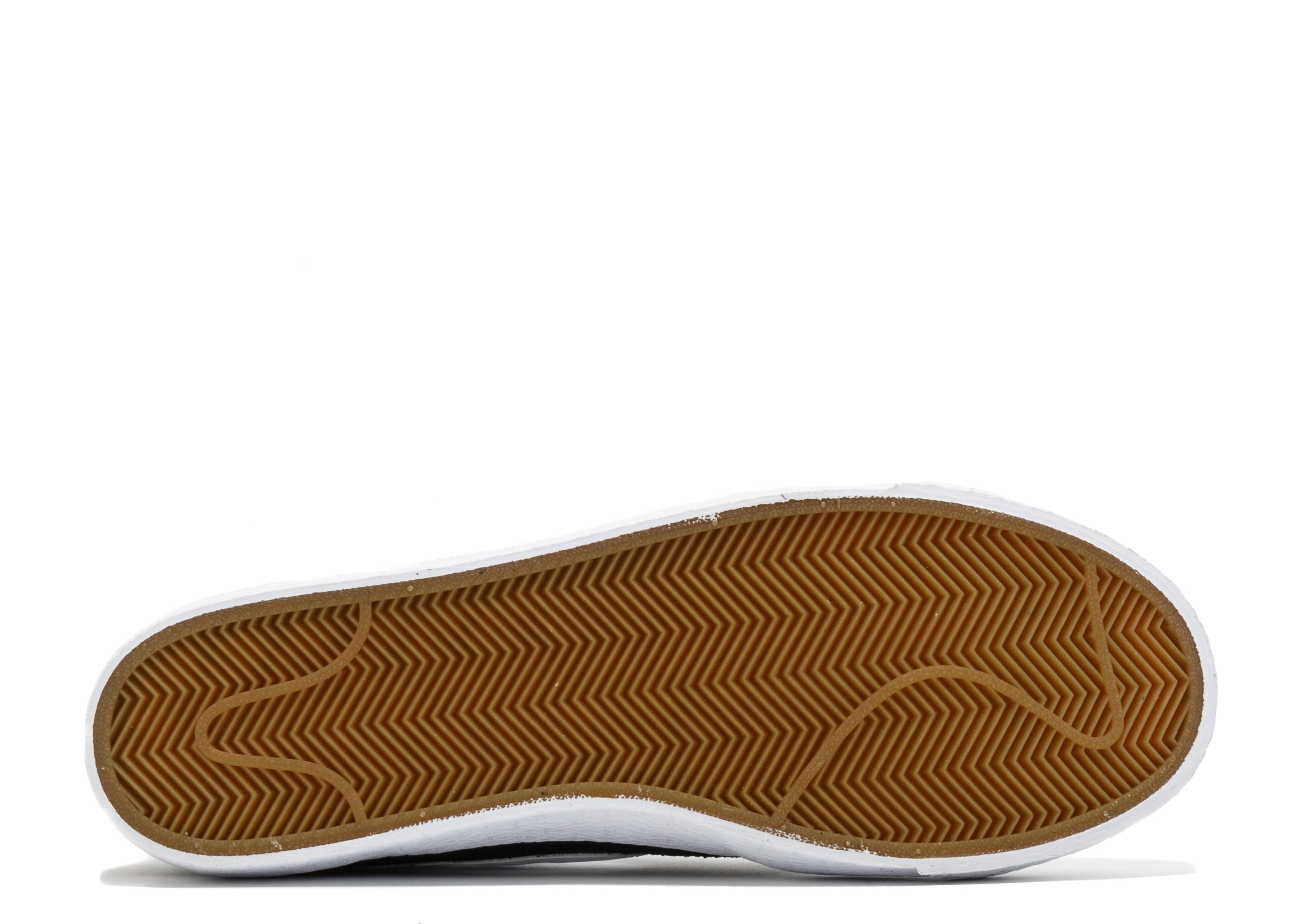 94c57152e9748e Nike Sb Blazer Zoom Low Xt - Nike - 864348 019 - black white-gum light  brown