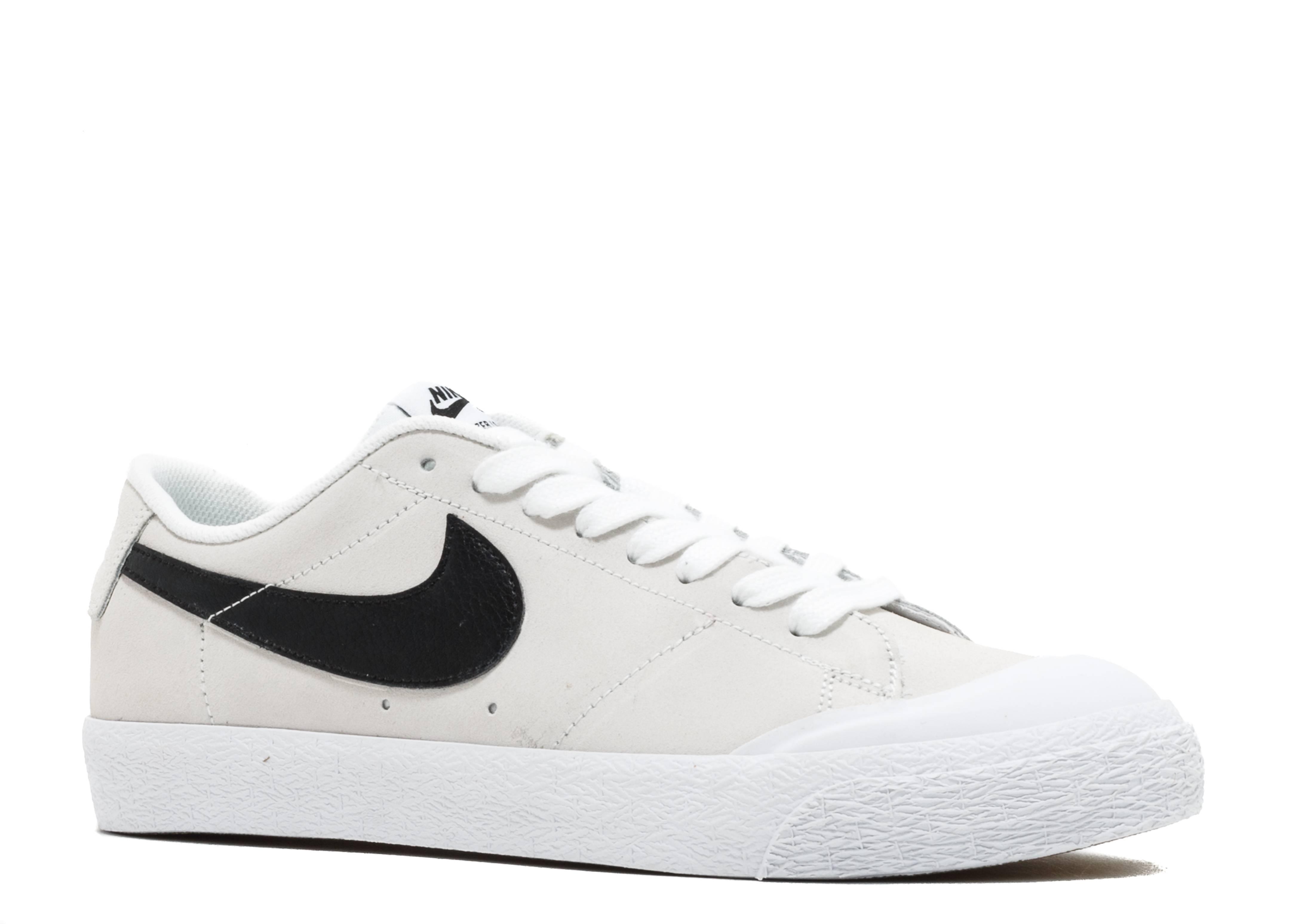 SB Blazer Zoom Low XT 'White Black' - Nike - 864348 101 - white ...