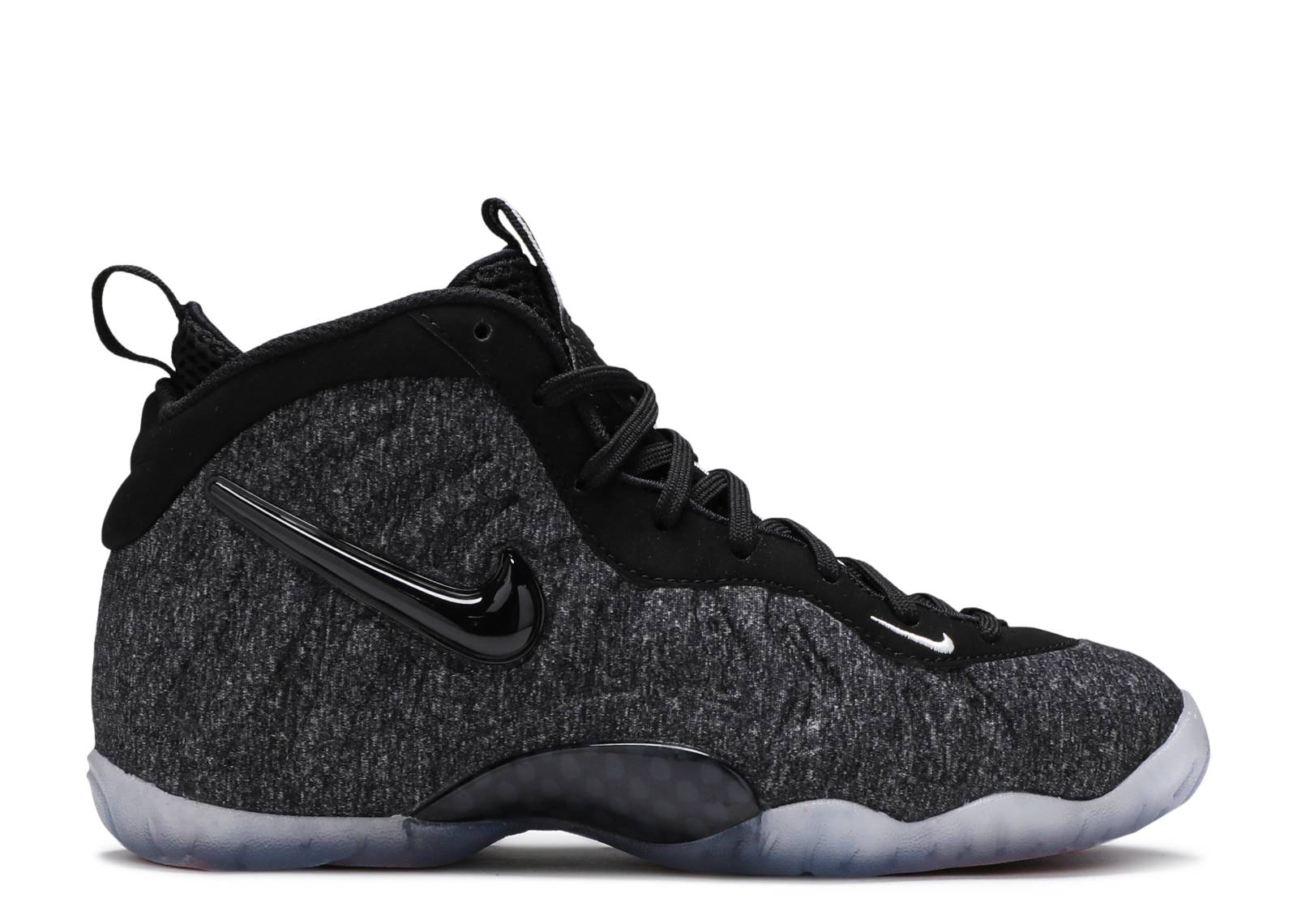 "nike little posite pro ""fleece wool"""