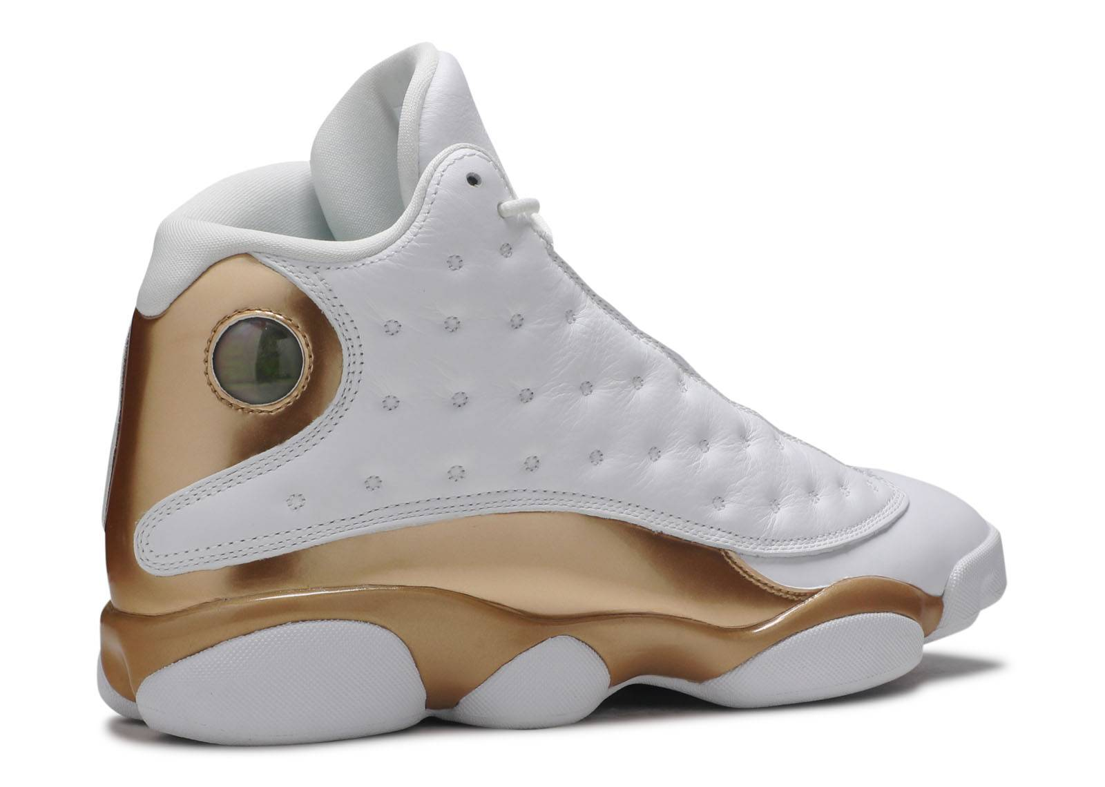 new style de4cb 23c95 air jordan retro 13 gold white