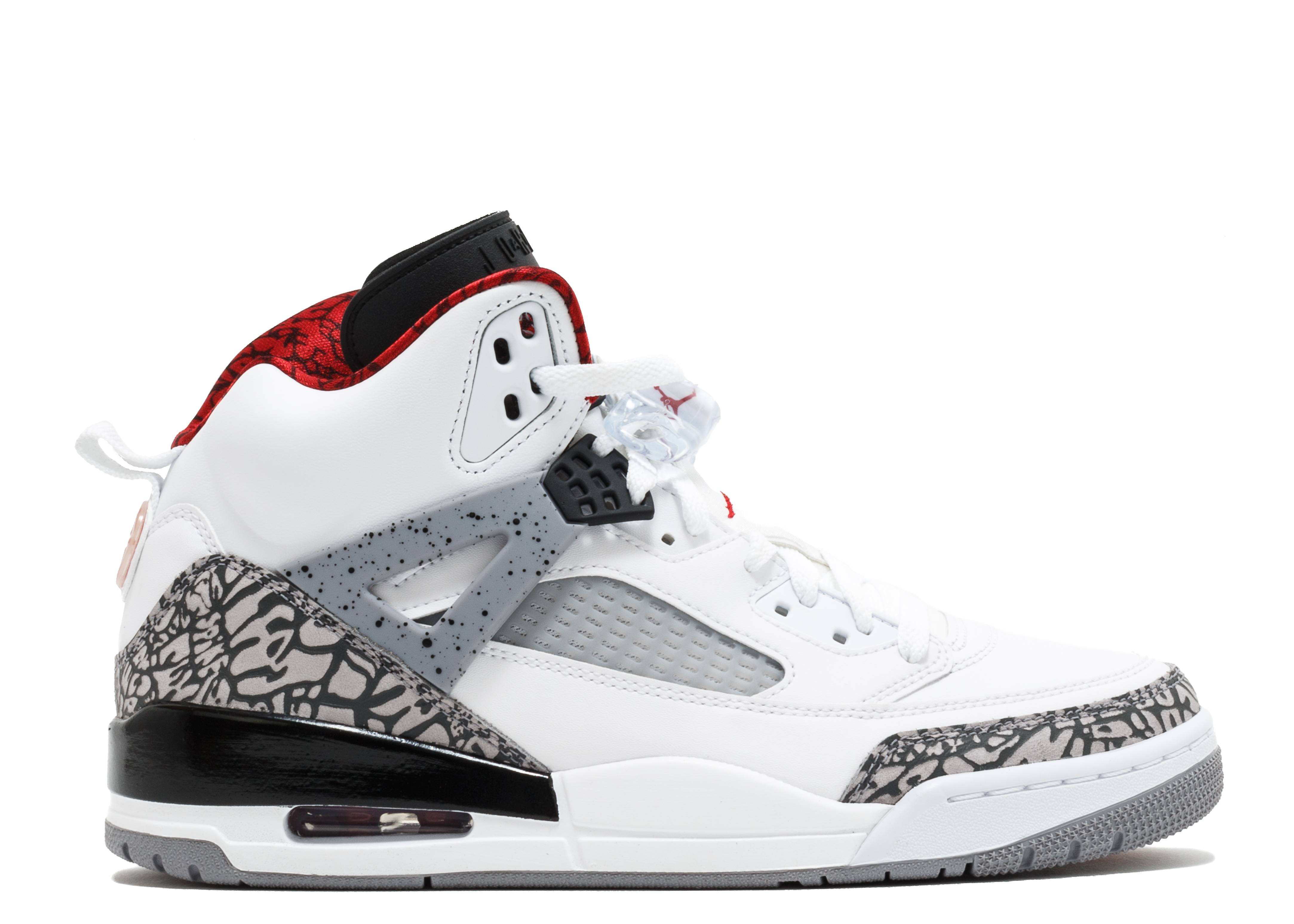 9bb2039f426aa Spizike - Air Jordan - 315371 122 - white varsity red - cement grey ...
