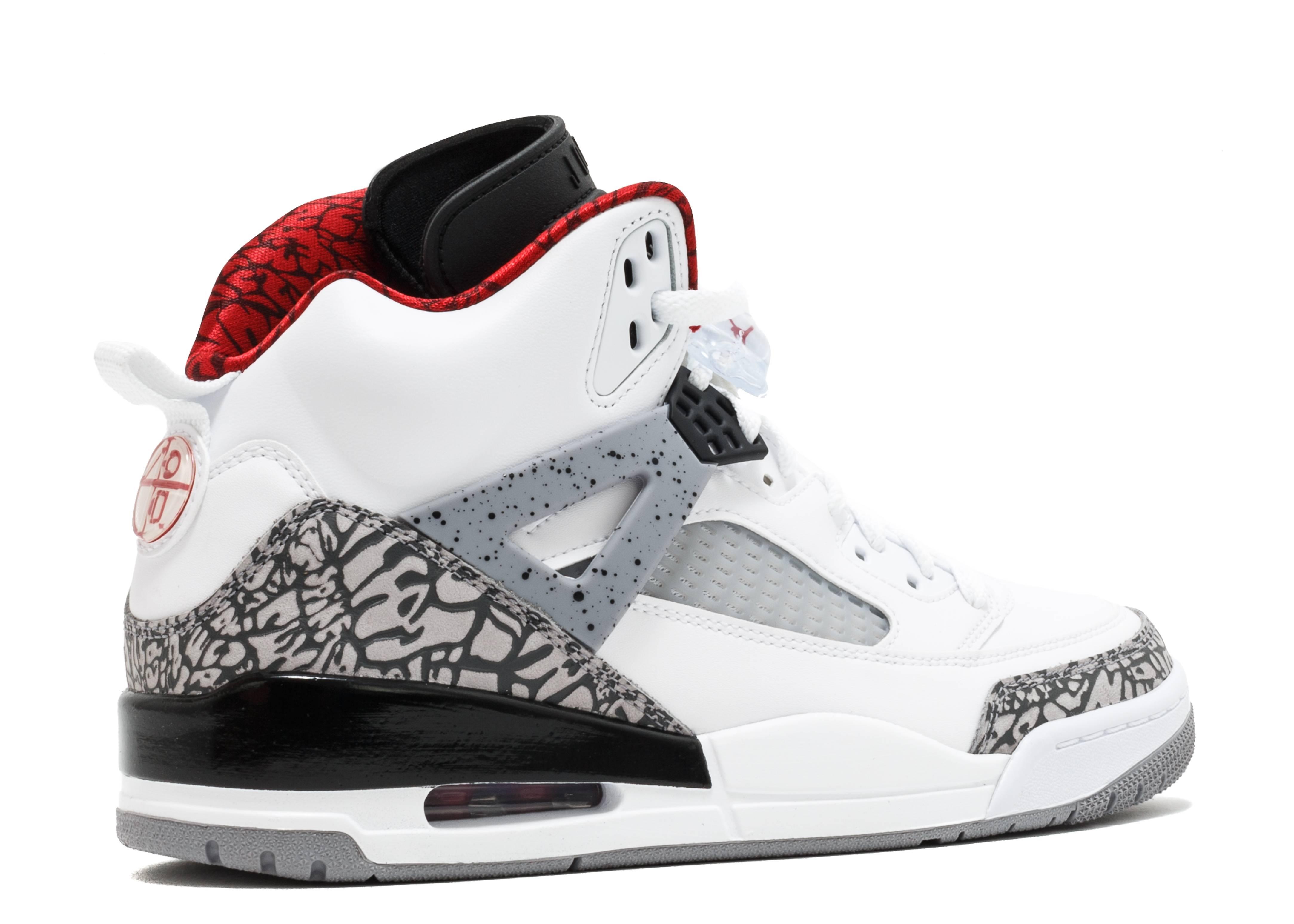c2fe1b7c4ba Spizike - Air Jordan - 315371 122 - white varsity red - cement grey ...