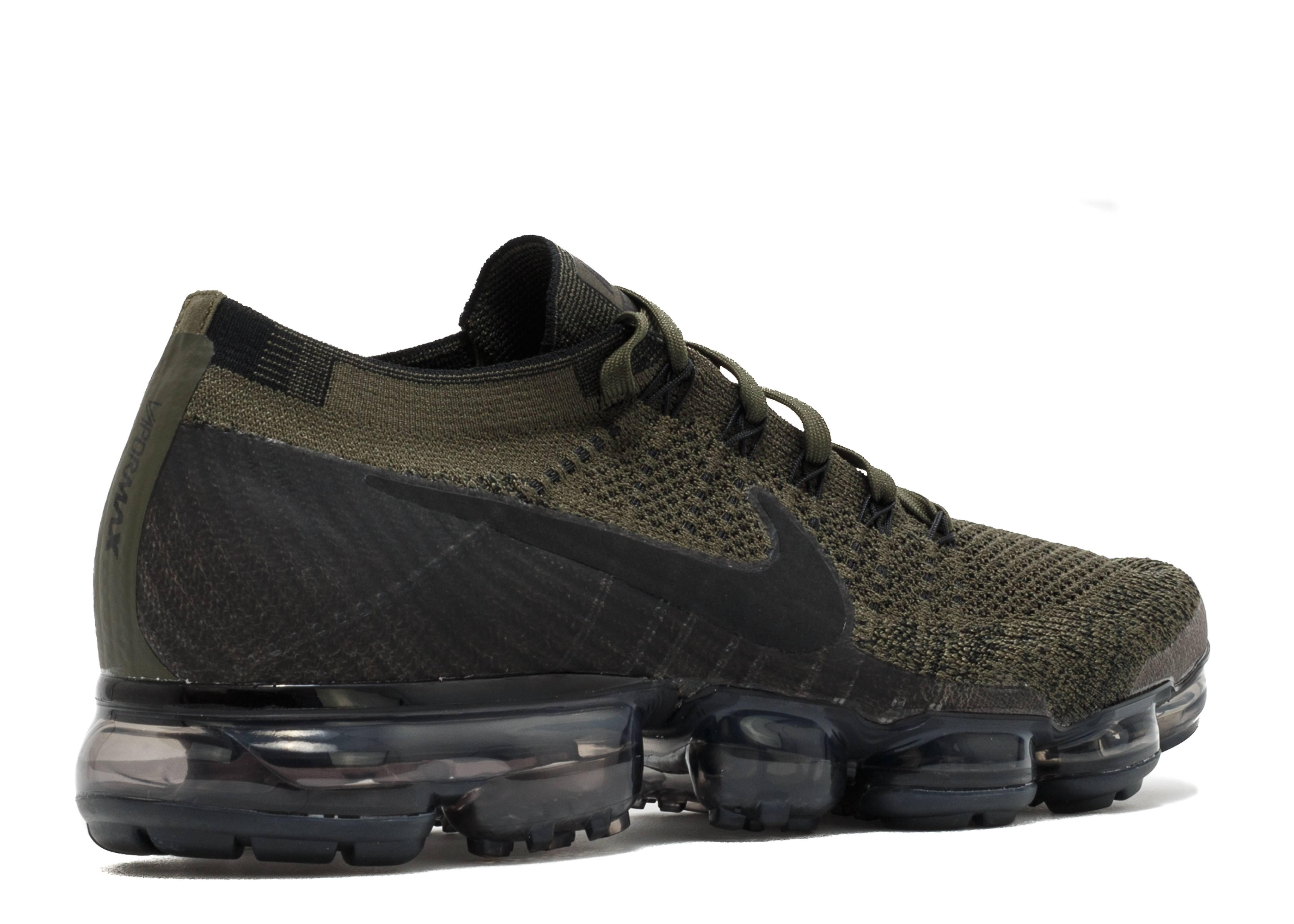 822fdc3facb Air Vapormax Flyknit - Nike - 849558 300 - cargo khaki black-medium olvie