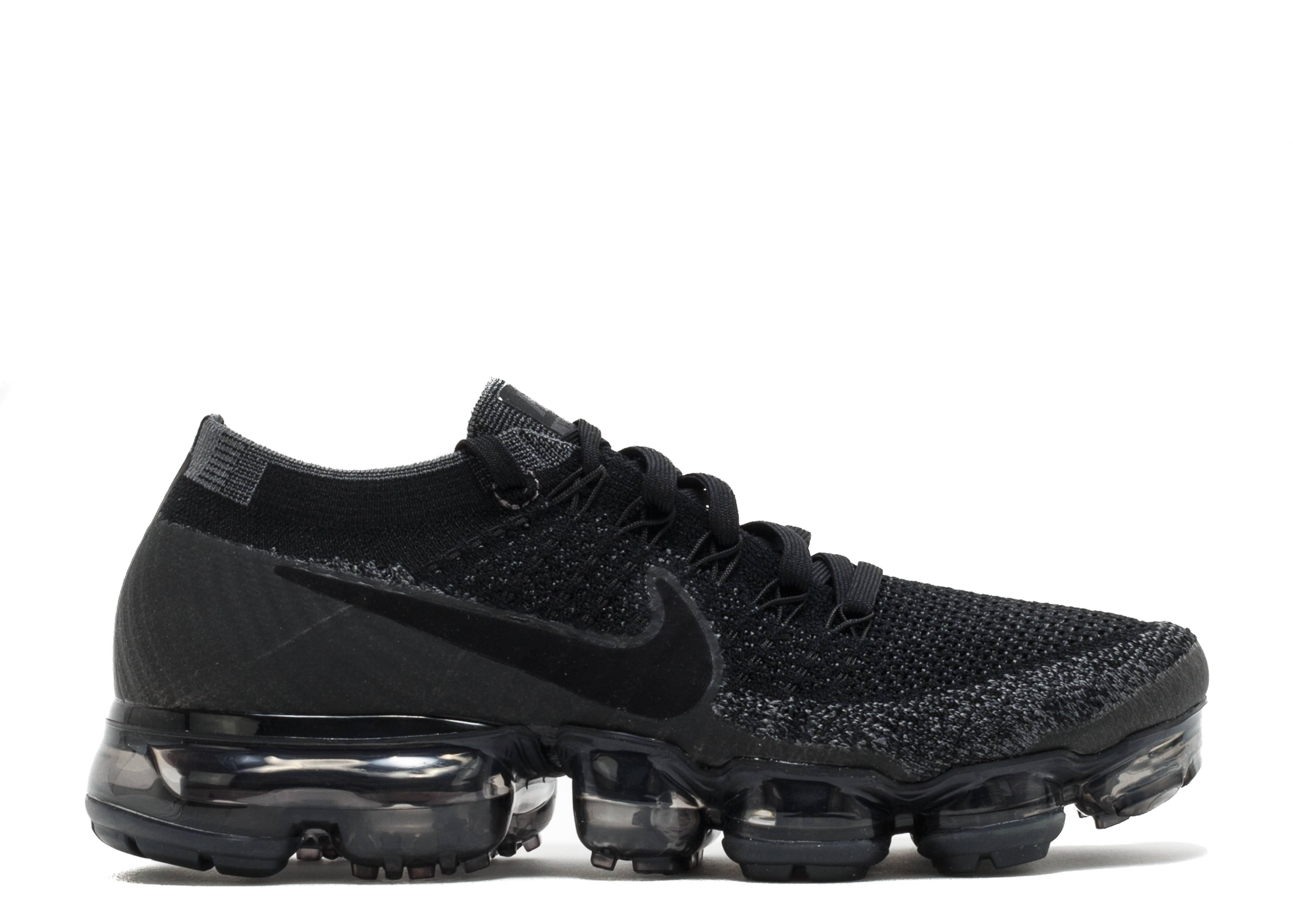 Nike Vapormax Flyknit Black Grey