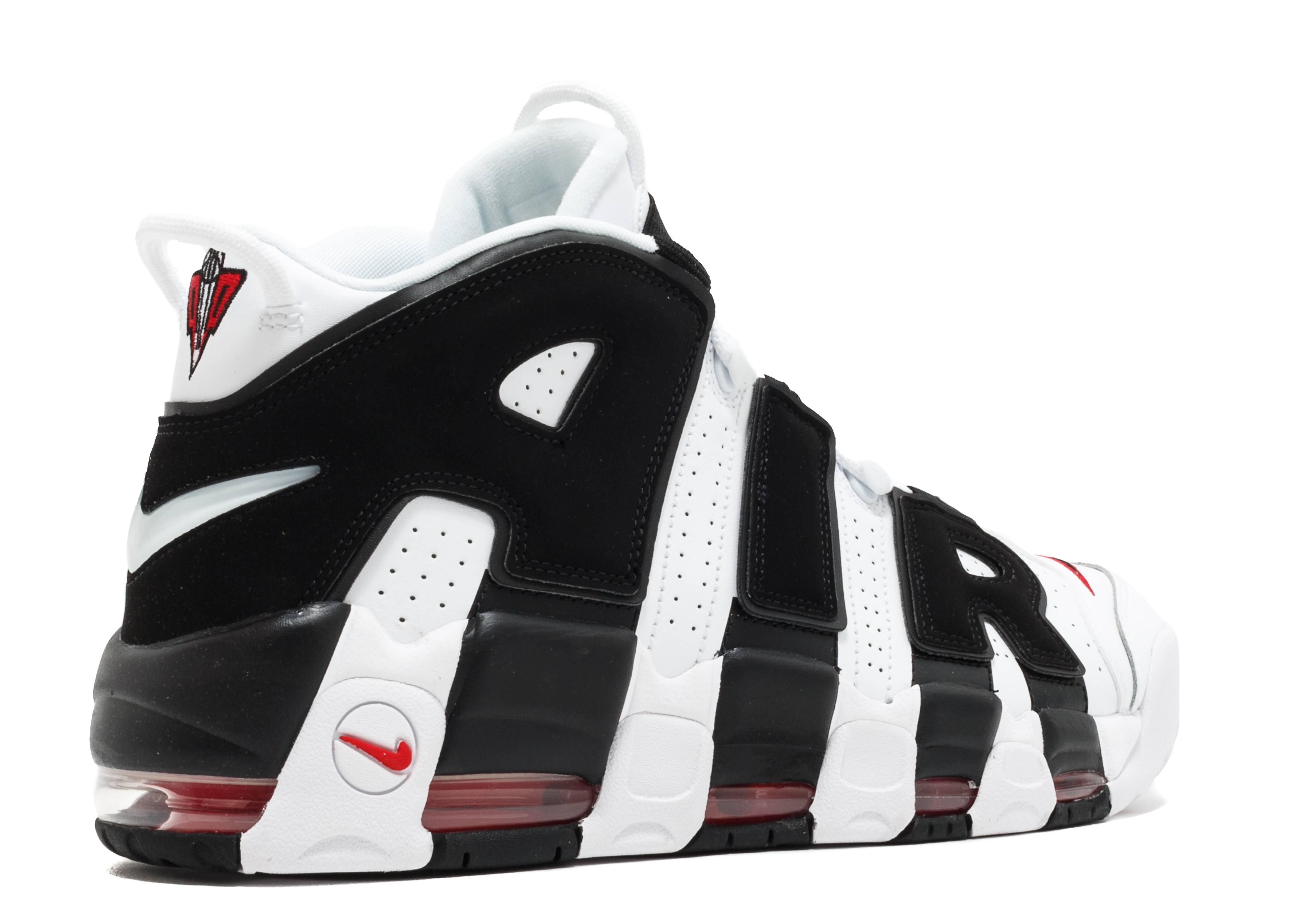 antiguo Suponer más lejos  Air More Uptempo 'Bulls' - Nike - 414962 105 - white/black/varsity red |  Flight Club