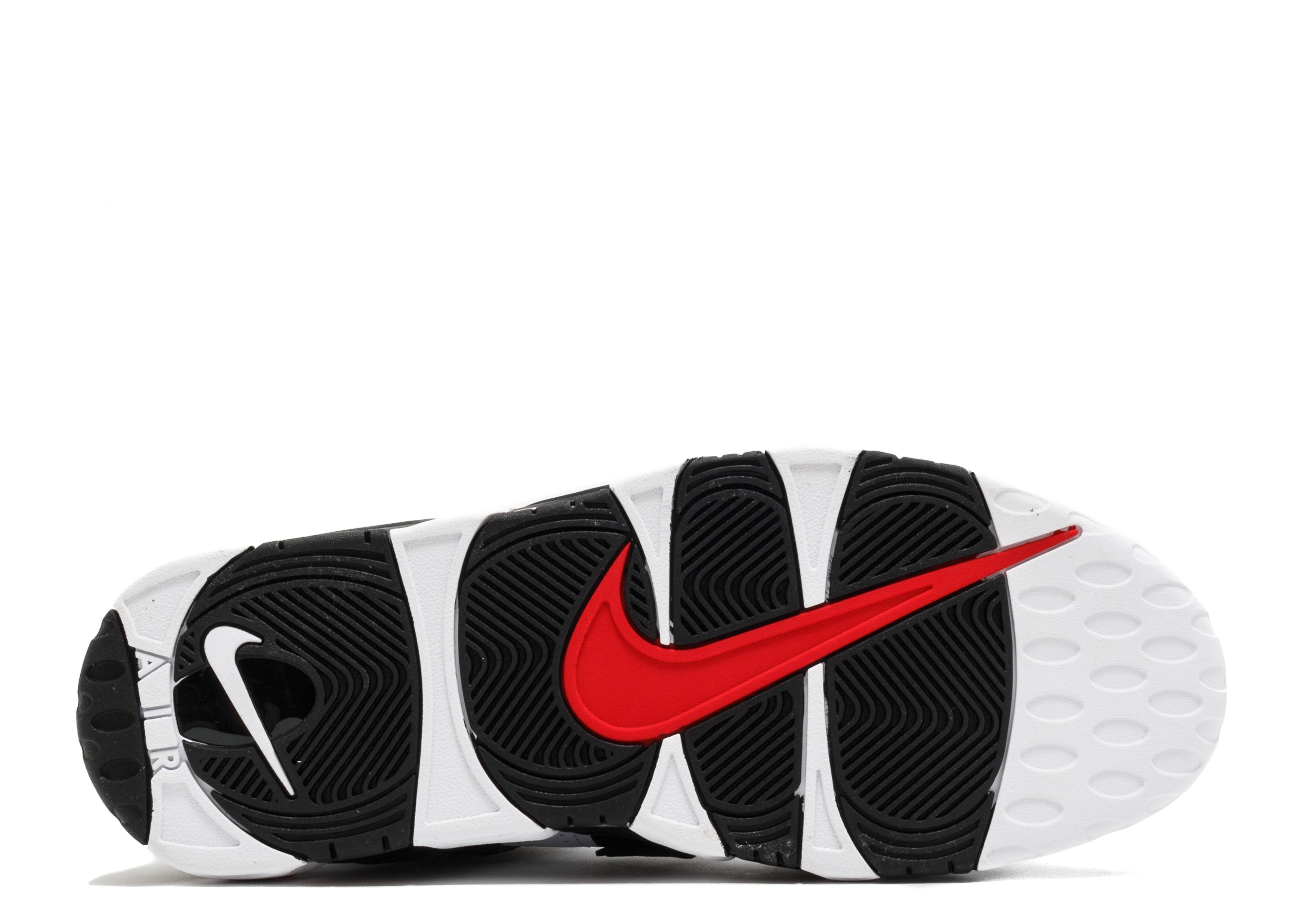 Air More Uptempo - Nike - 414962 105 - white   black - university red  e6375de28b