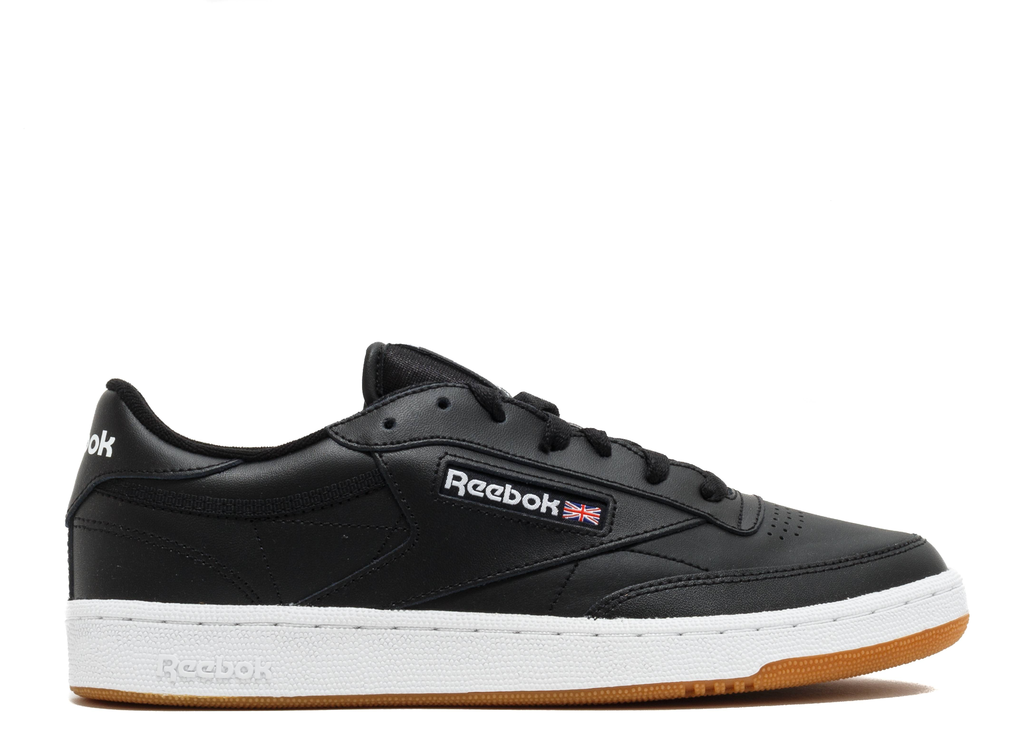 3b22785f64ade9 Club C 85 - Reebok - AR0458 - black white gum